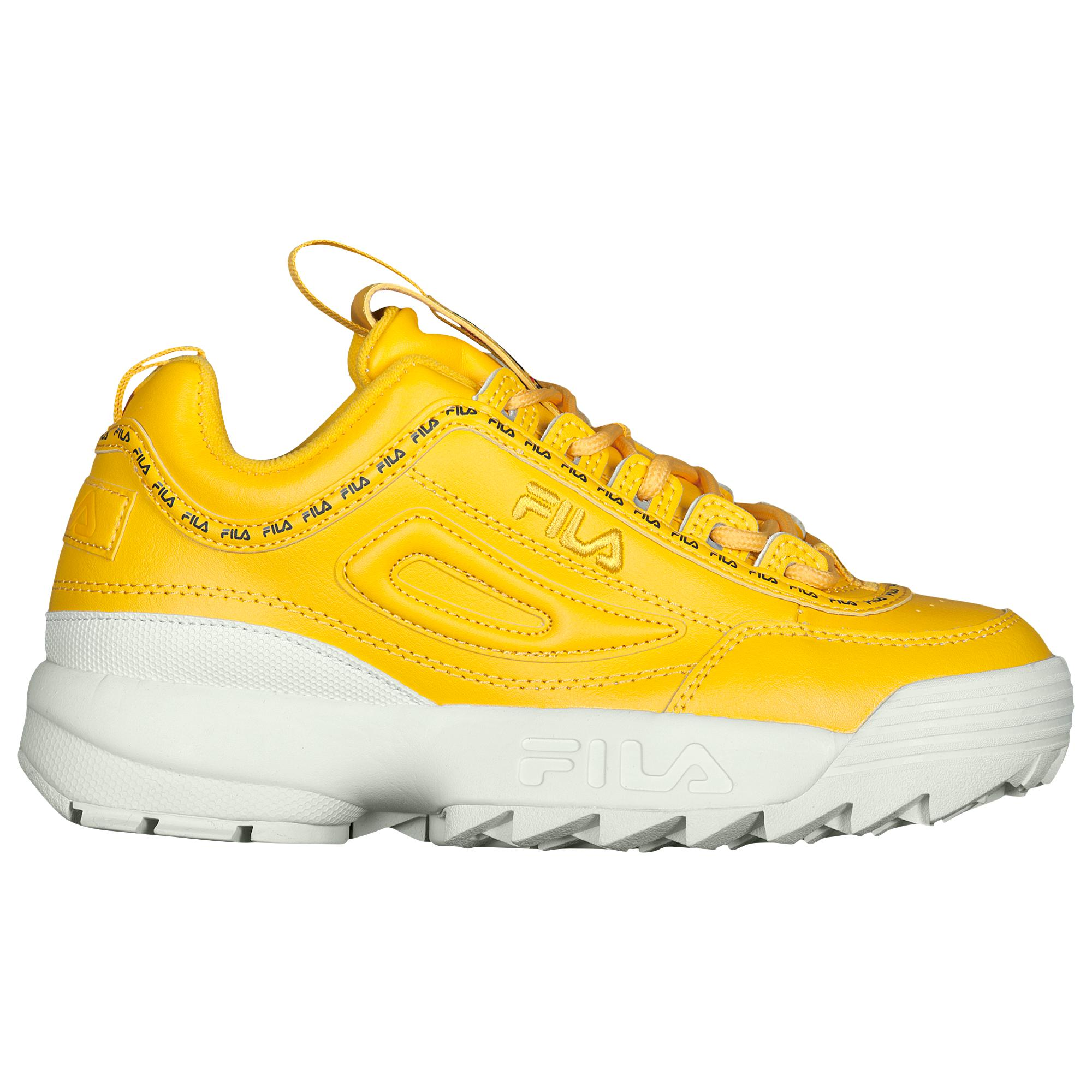 db1899c13e82 Fila - Yellow Disruptor Ii Premium Repeat - Lyst. View fullscreen