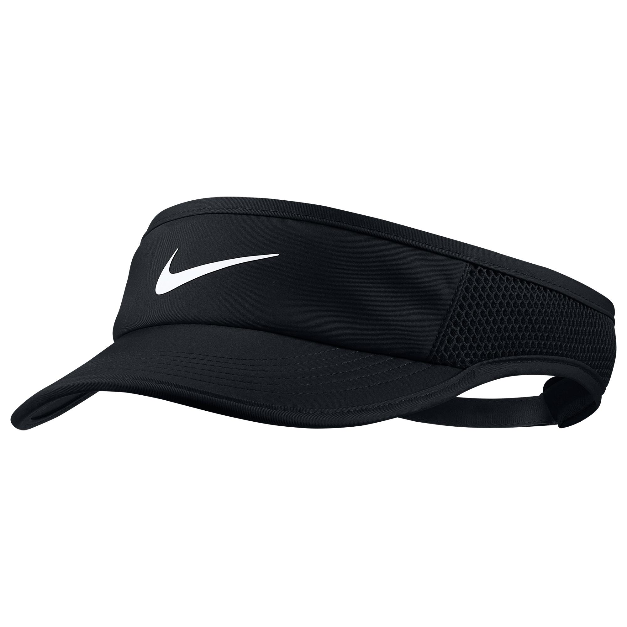 f7a98fedcb5 Lyst - Nike Dri-fit Featherlight Visor in Black