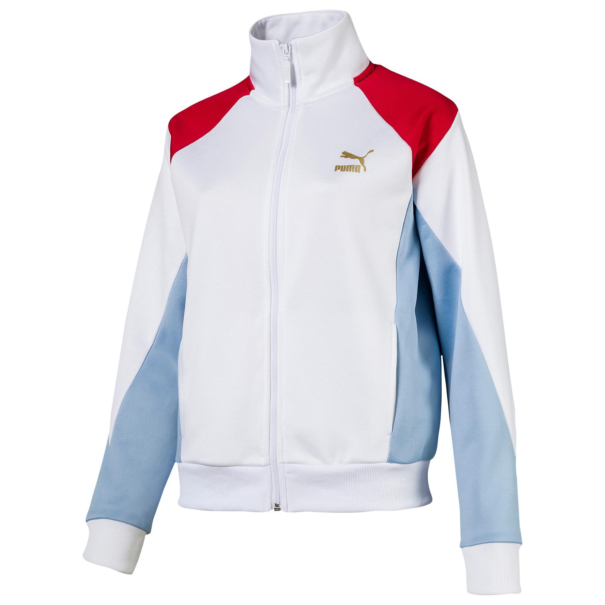 5b8d56b71e52 Lyst - PUMA Retro Classic Track Jacket in Blue
