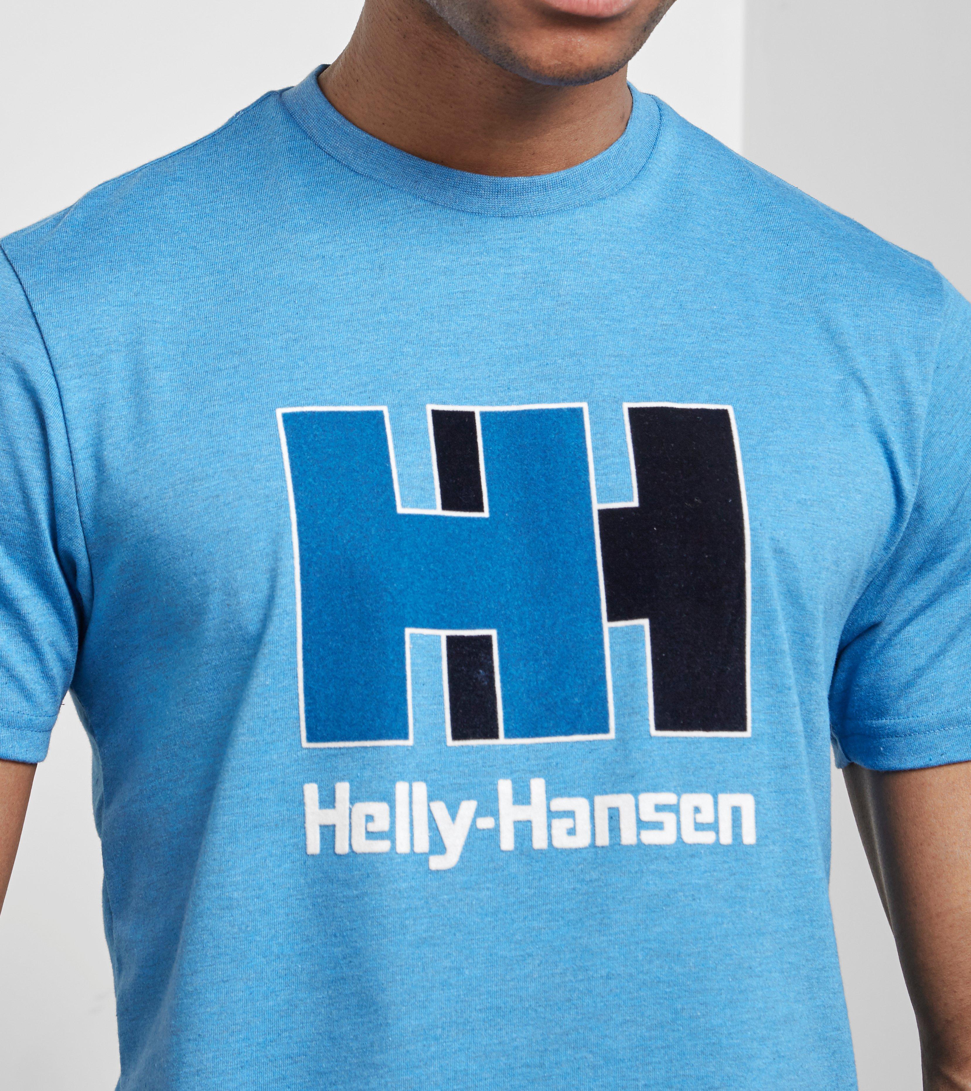 więcej zdjęć kod promocyjny wielka wyprzedaż Helly Hansen Cotton Hh Logo T-shirt in Blue for Men - Lyst