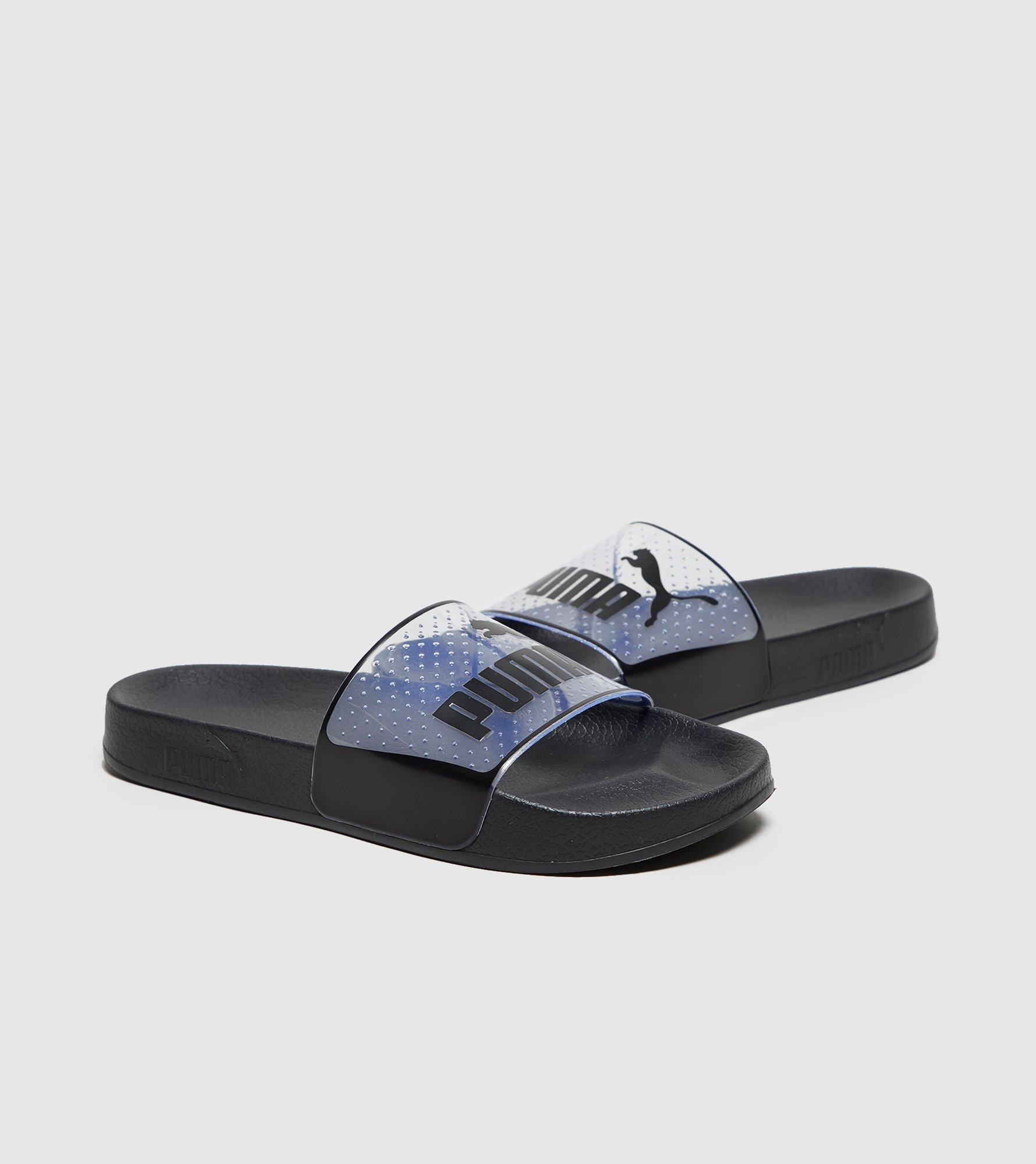 PUMA Leadcat Jelly Slides Women s in Black - Lyst 734dc9cd9