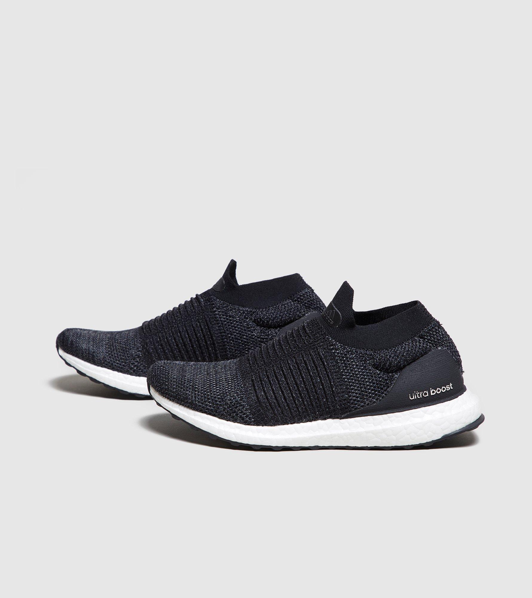 adidas. Black Ultraboost Laceless Women's
