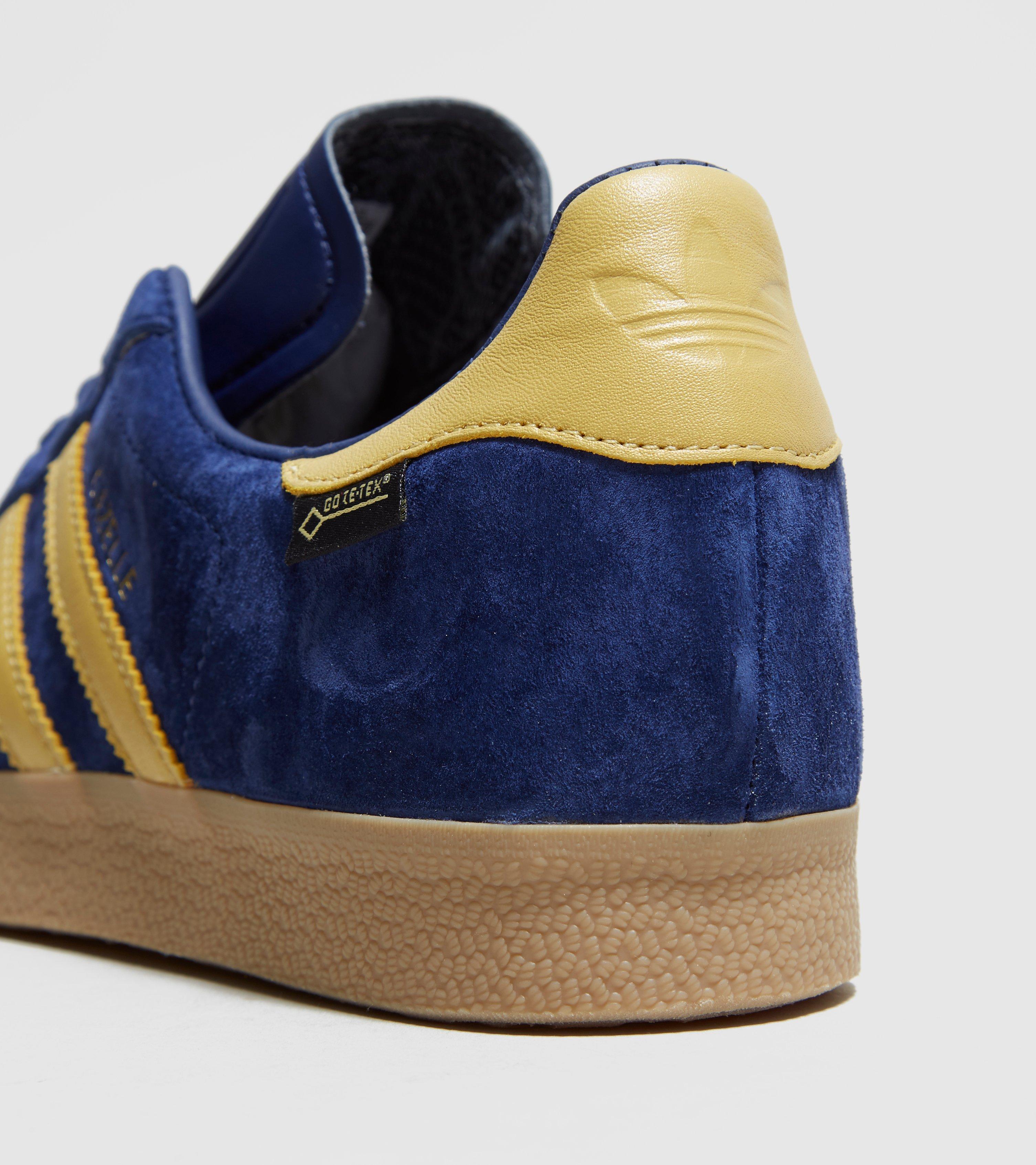 5e0e987e79e8af adidas Originals Gazelle Gore-tex Milan - Size  Exclusive in Blue ...