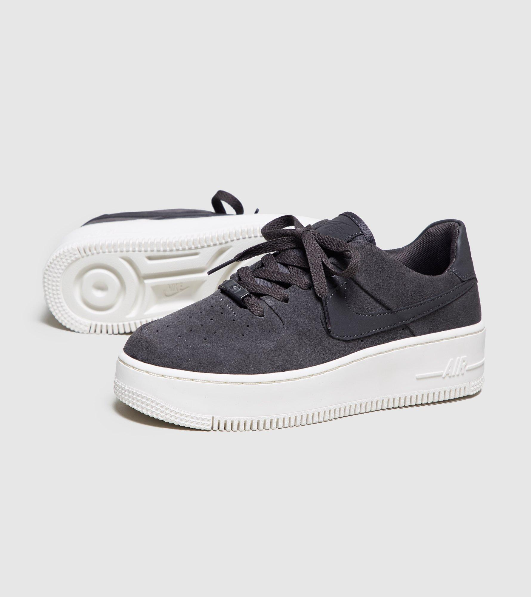 b96af42032e7 Nike Air Force 1 Sage Low Women s in Gray - Lyst