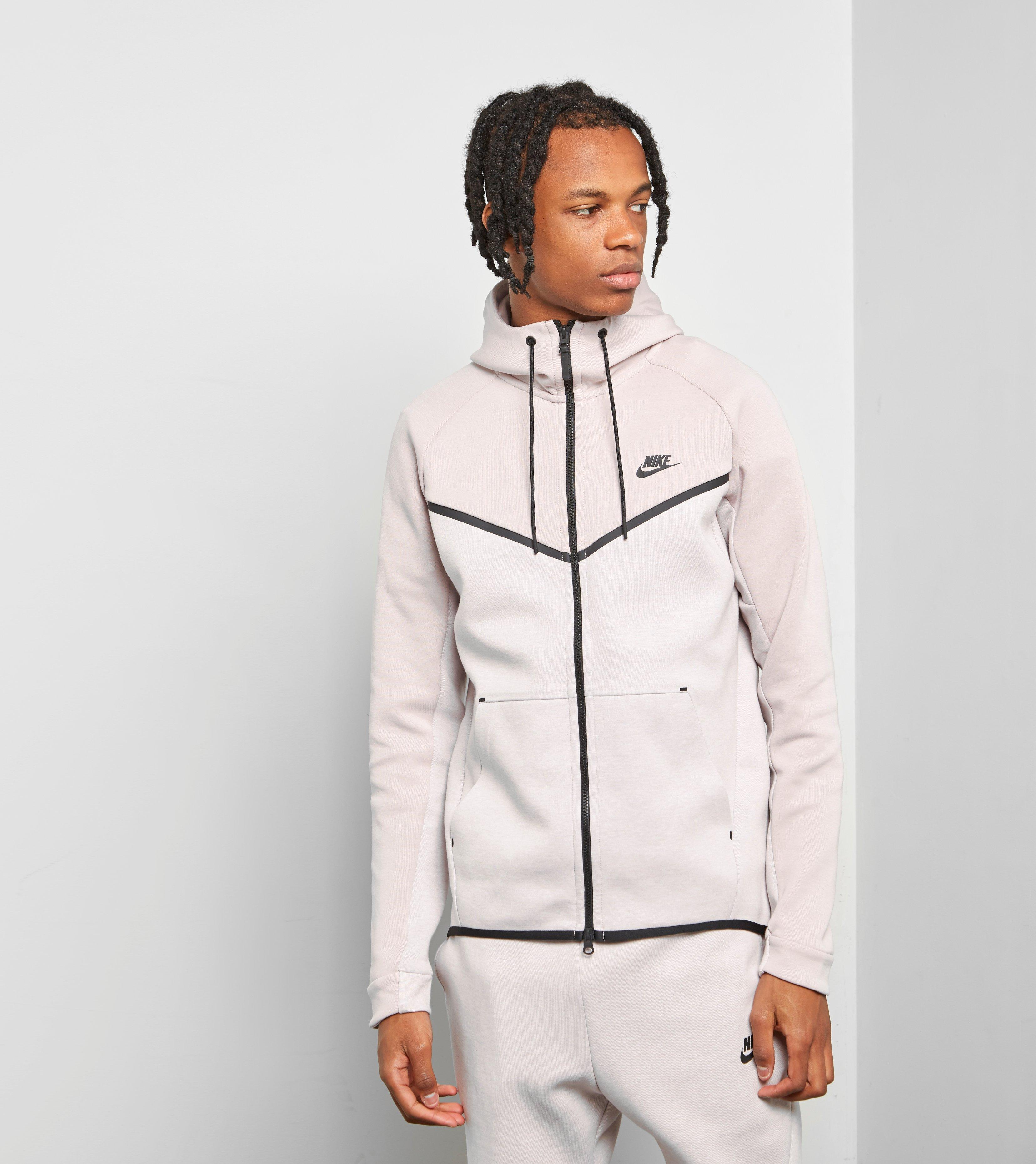 ad111ce562 Lyst - Nike Tech Fleece Windrunner Hoody in Pink for Men