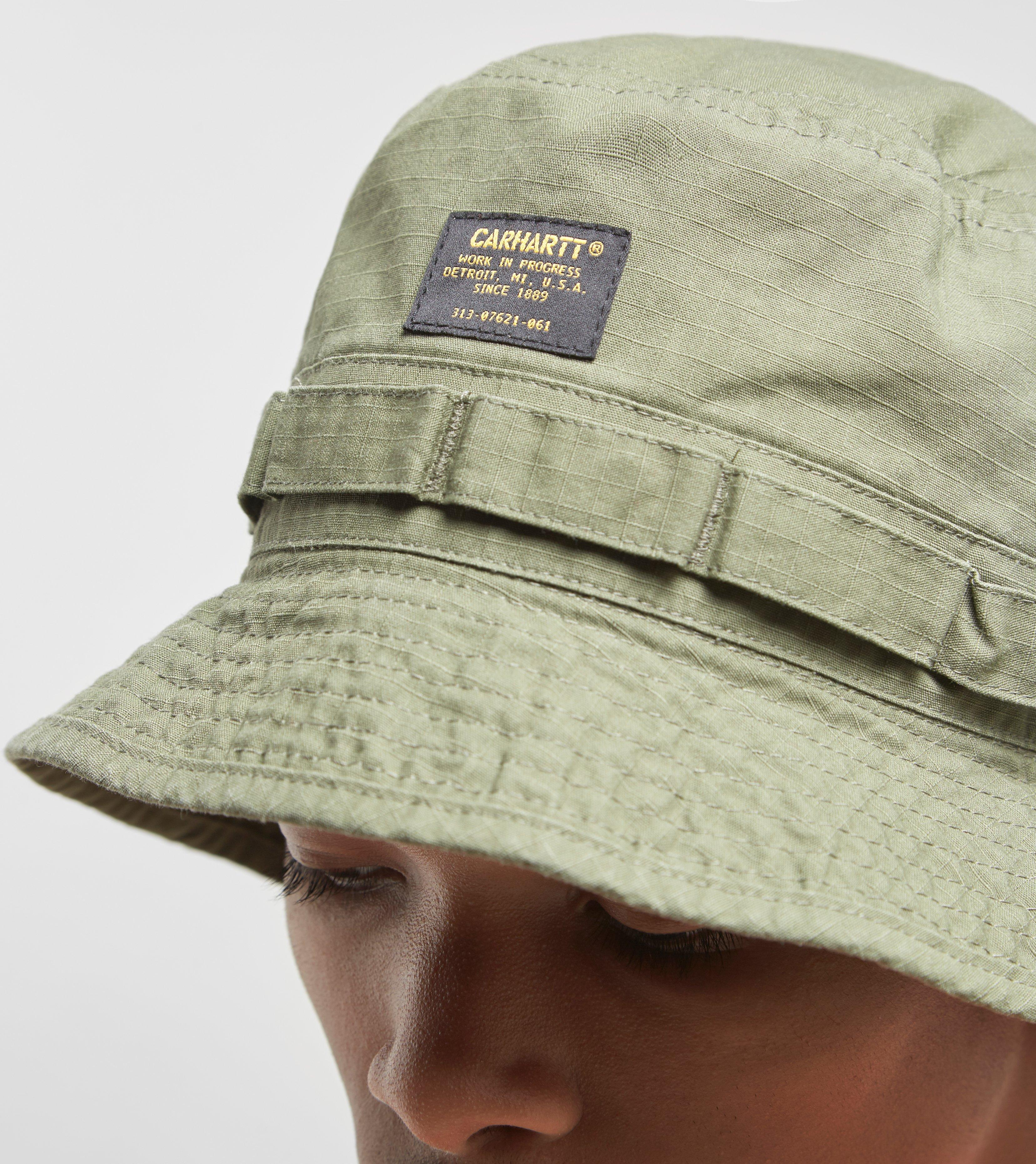 a1ff00d94d1 Lyst - Carhartt WIP Military Bucket Hat in Green for Men
