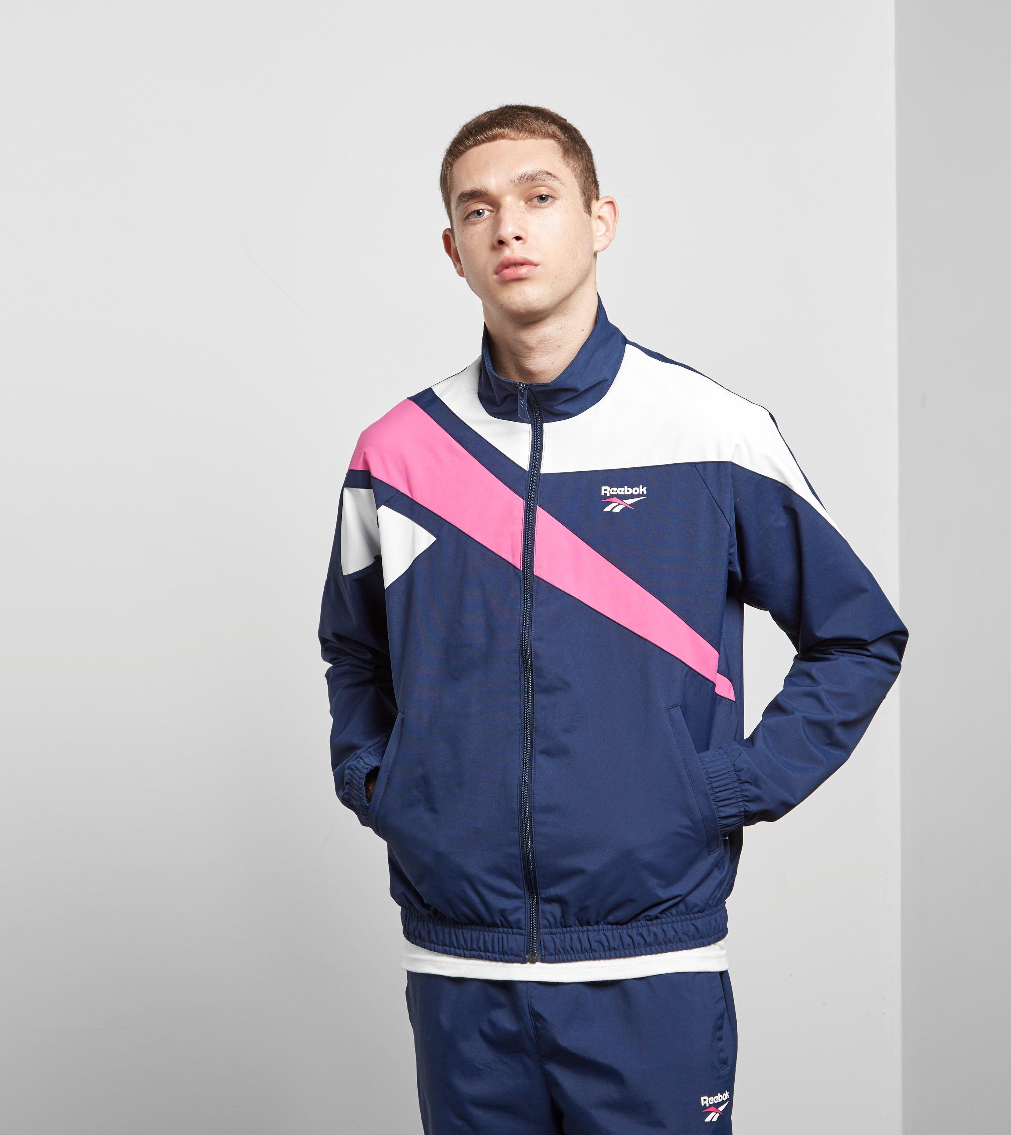 71a858d3141 Lyst - Reebok Classic Track Top in Blue for Men