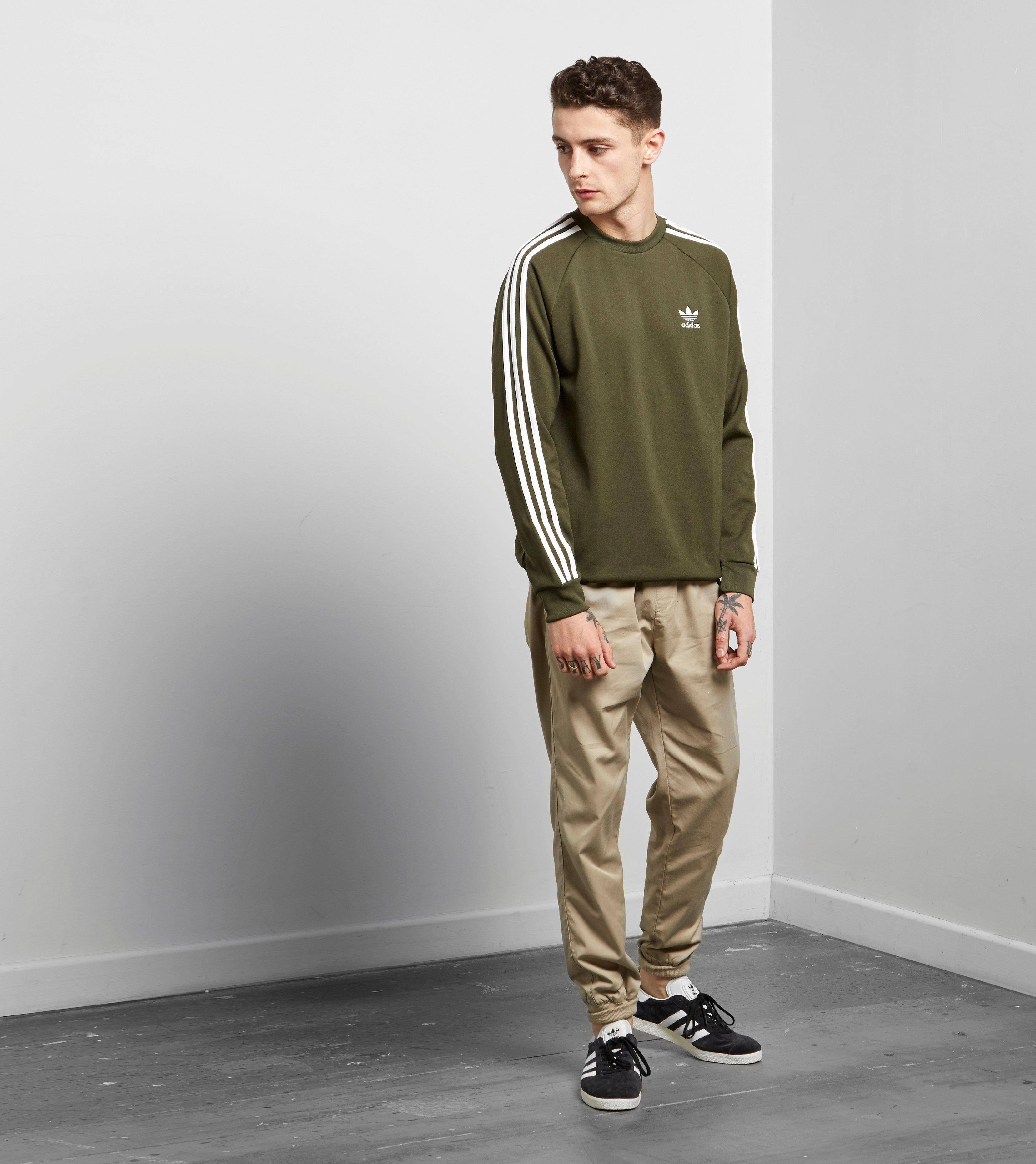 Lyst Sweatshirt In Originals For Adidas Men Crew California Green fy6Yb7g