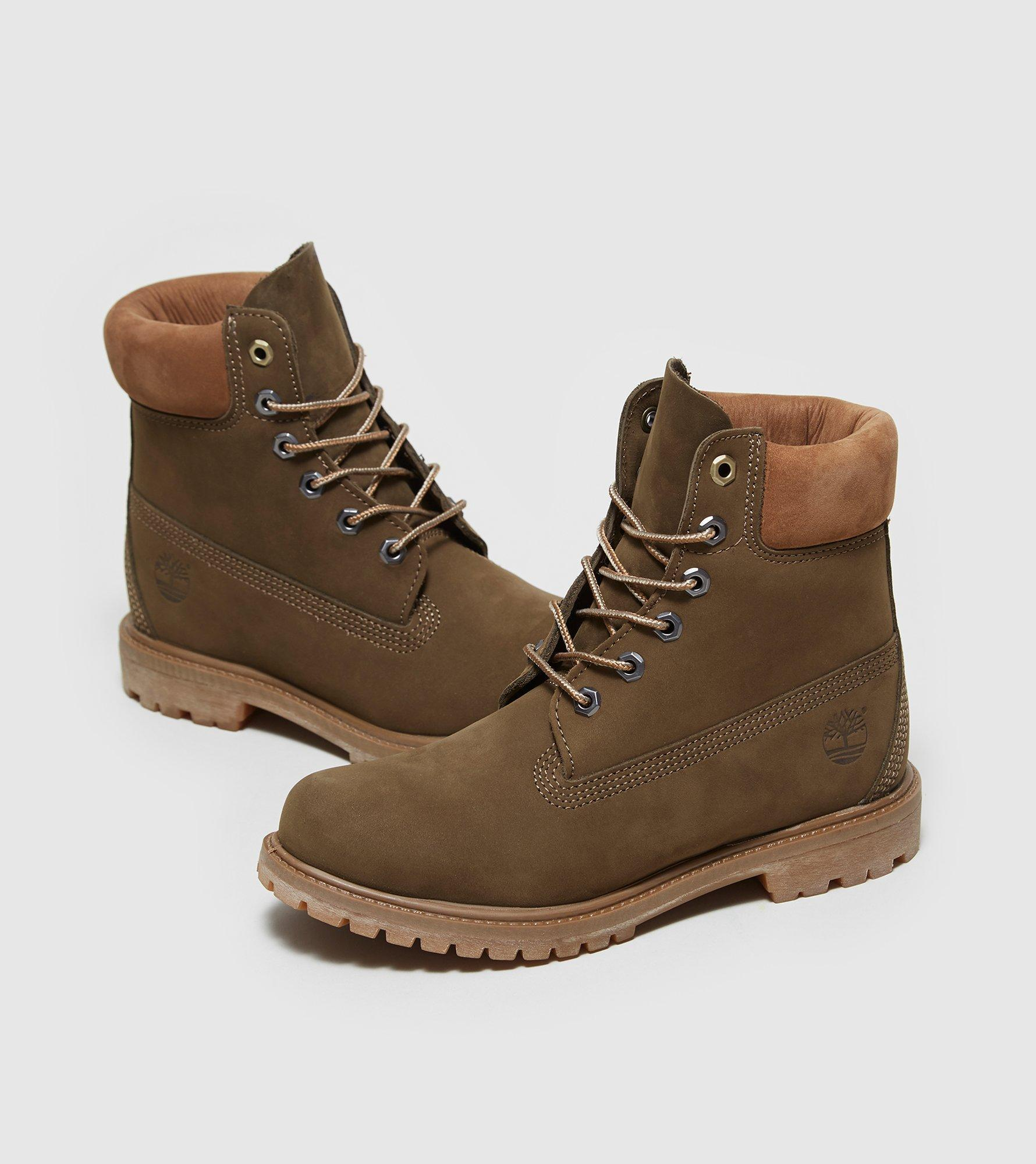 Awesome Timberland Mens Olive Green Waterproof Ankle Boots Lace Up Ladies Nubuck Shoes | EBay