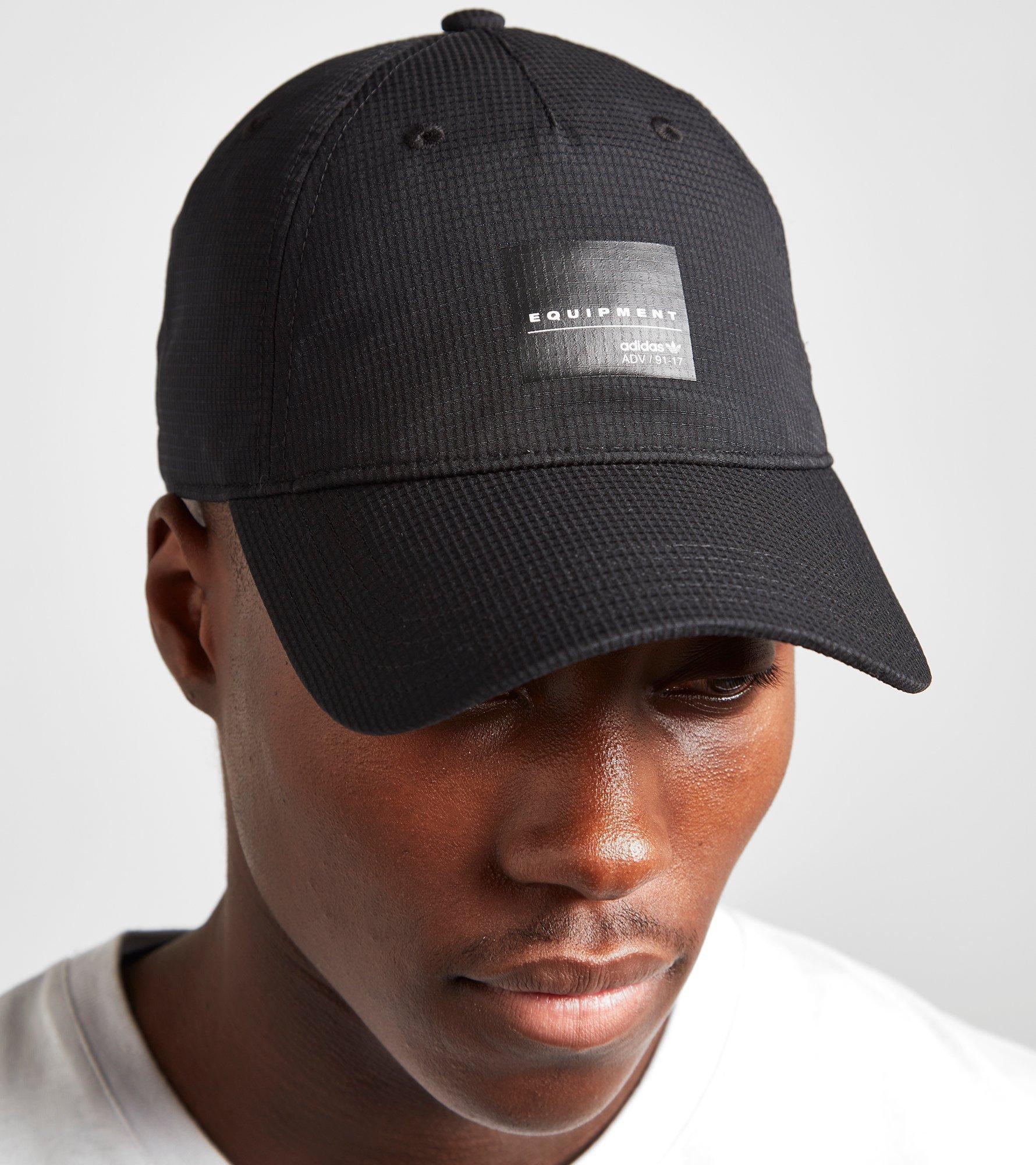 Lyst Lyst Adidas Originals para Eqt Strapback Cap en negro para negro hombre d795eac - www.linkqq.pw