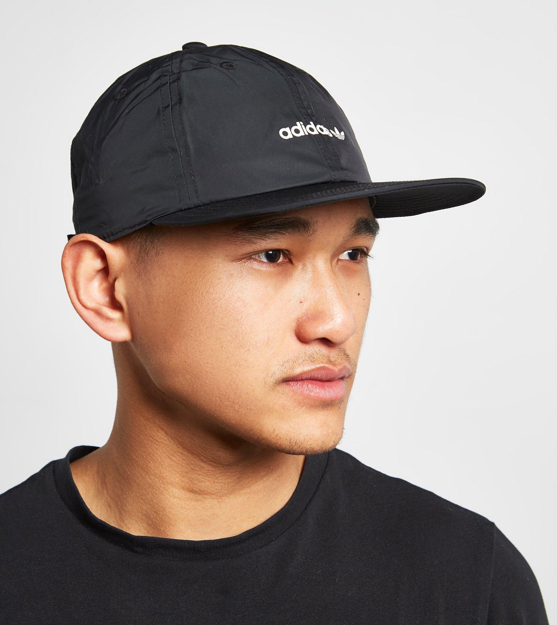 adidas Originals Floppy 6 Panel Cap in Black for Men - Lyst 7ef0980d732