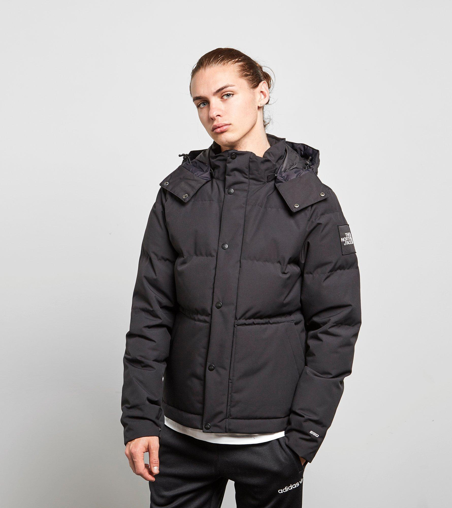lyst the north face box canyon black label jacket in