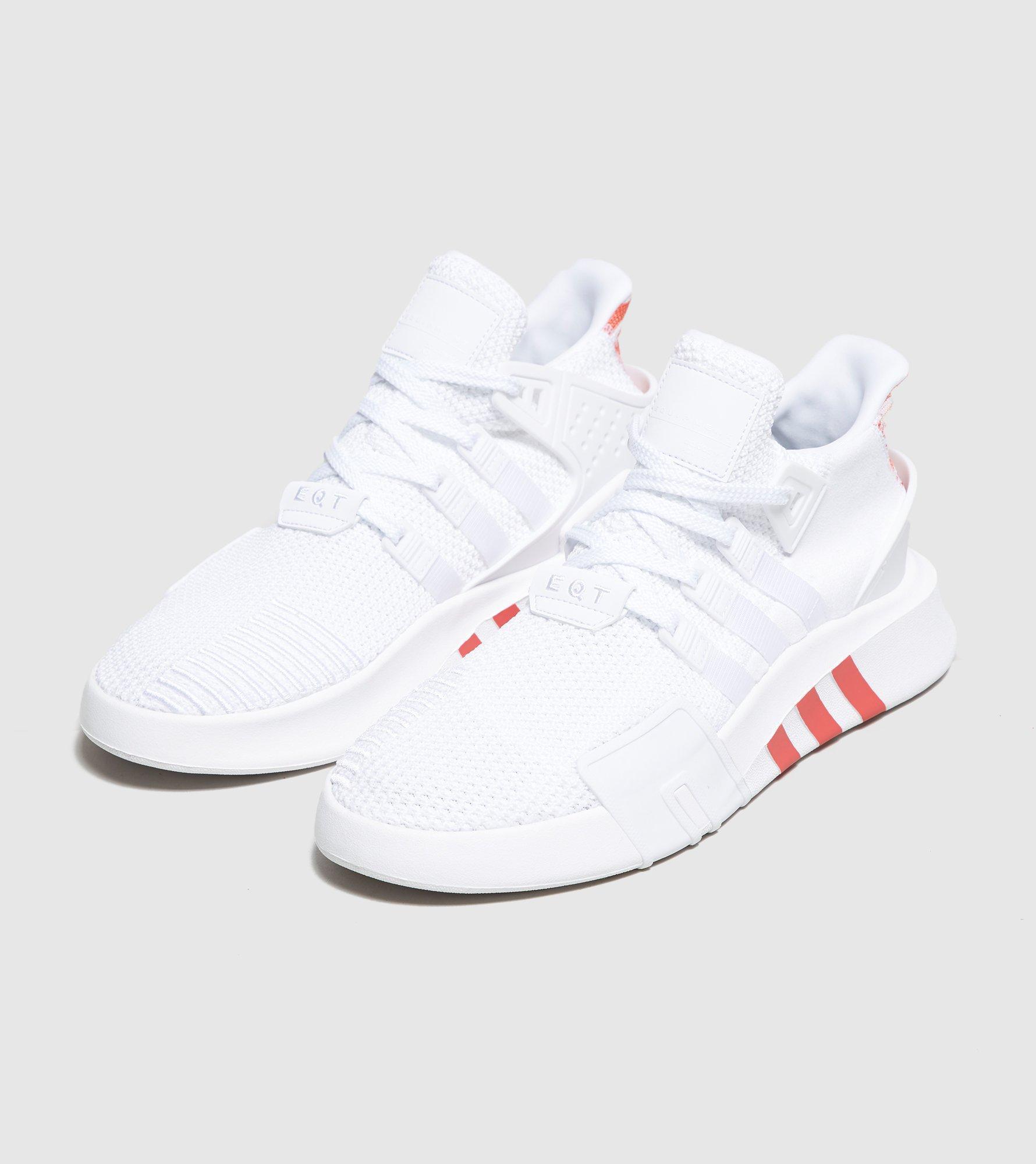 adidas Originals Rubber Eqt Bask Adv in WhiteRed (White