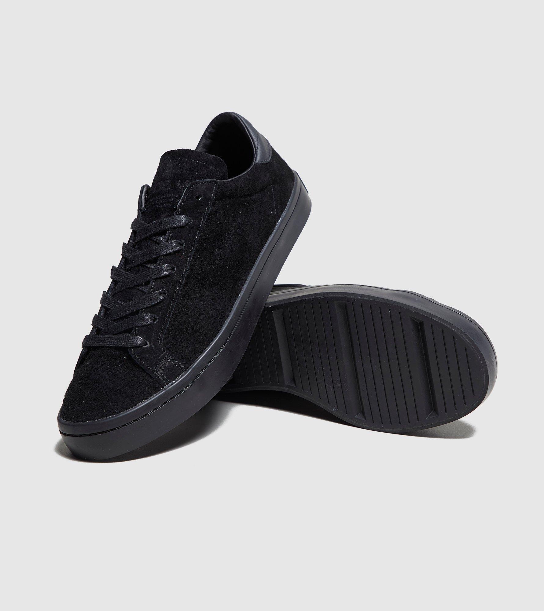 timeless design da86f e9560 Adidas Originals Court Vantage Suede in Black for Men - Lyst
