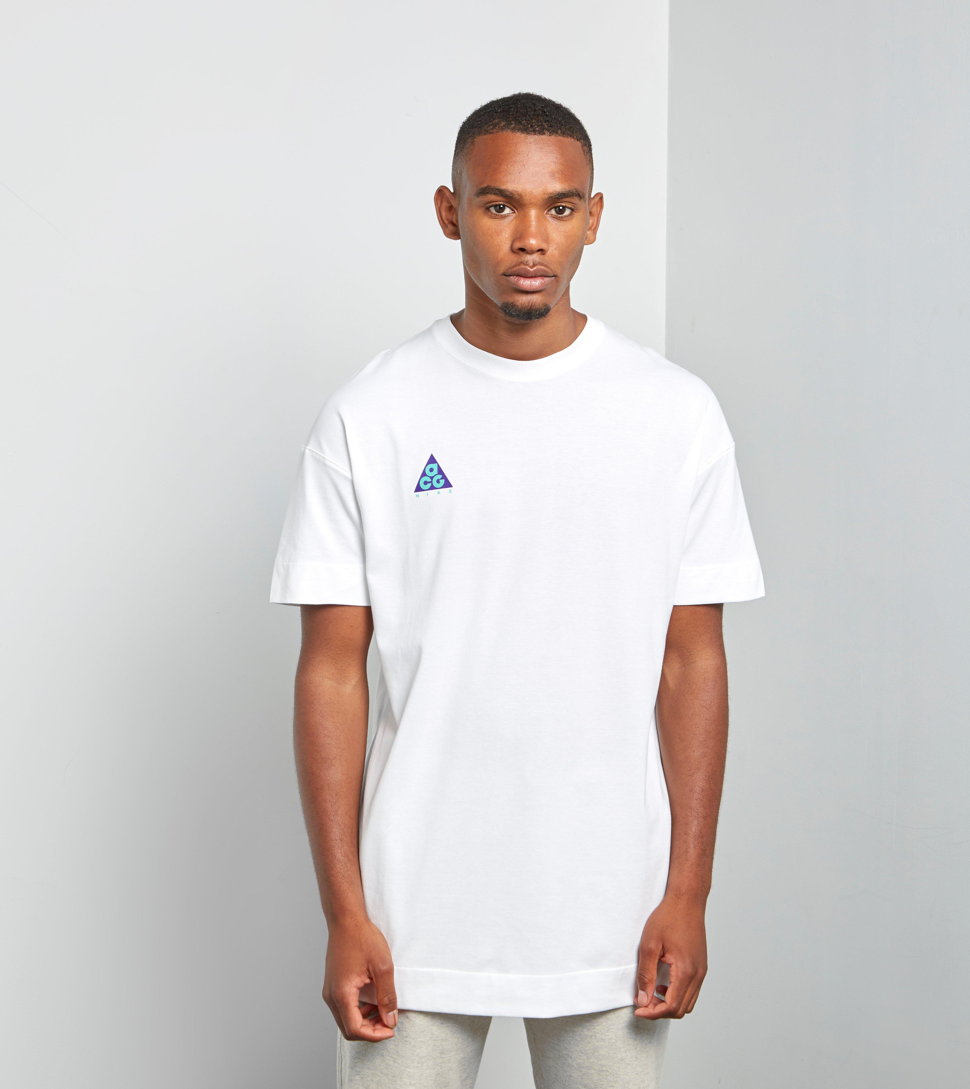 39e52694b1cce8 Lyst - Nike Acg T-shirt Qs in White for Men