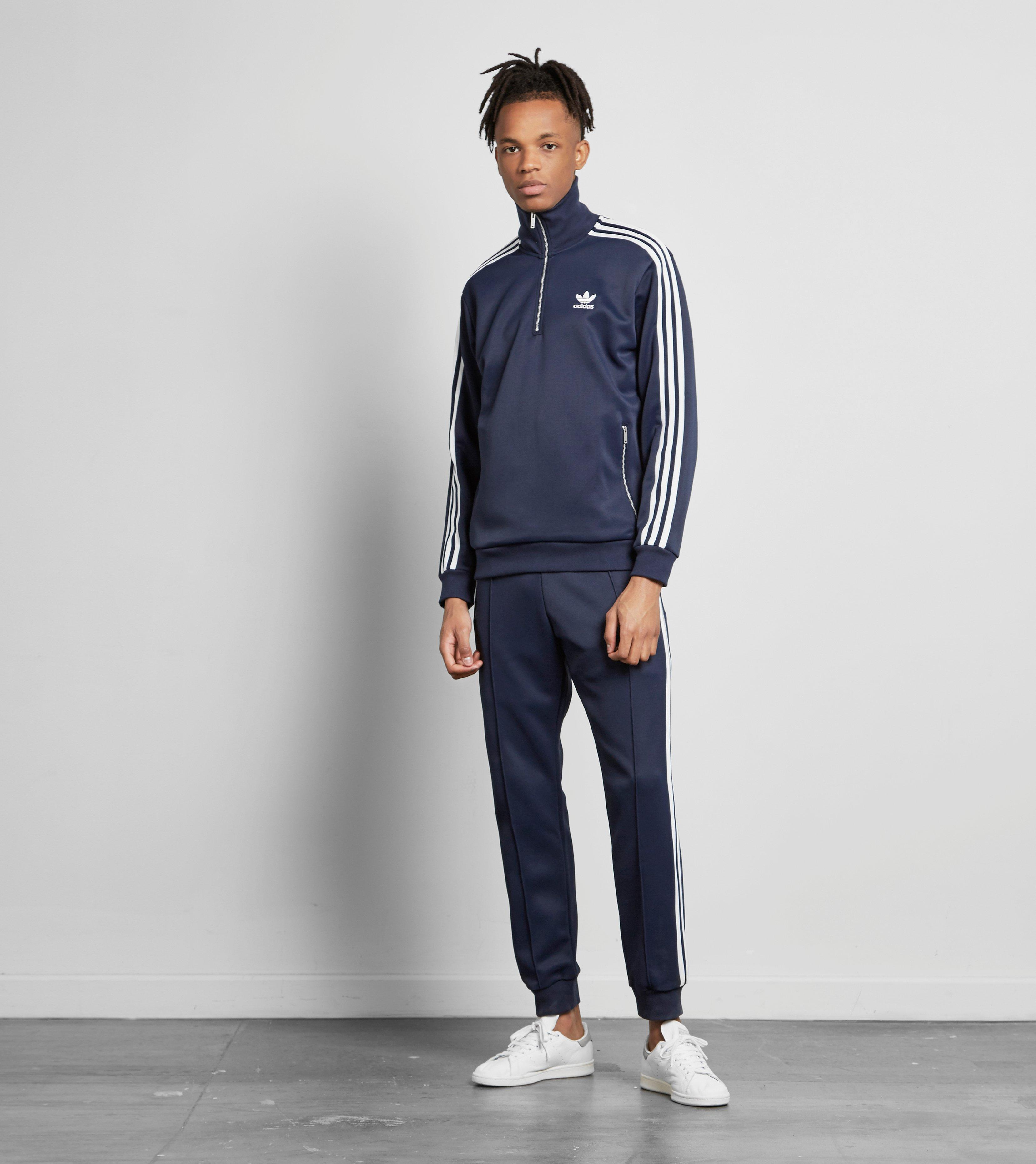 lyst  adidas originals cntp track pants in blue for men