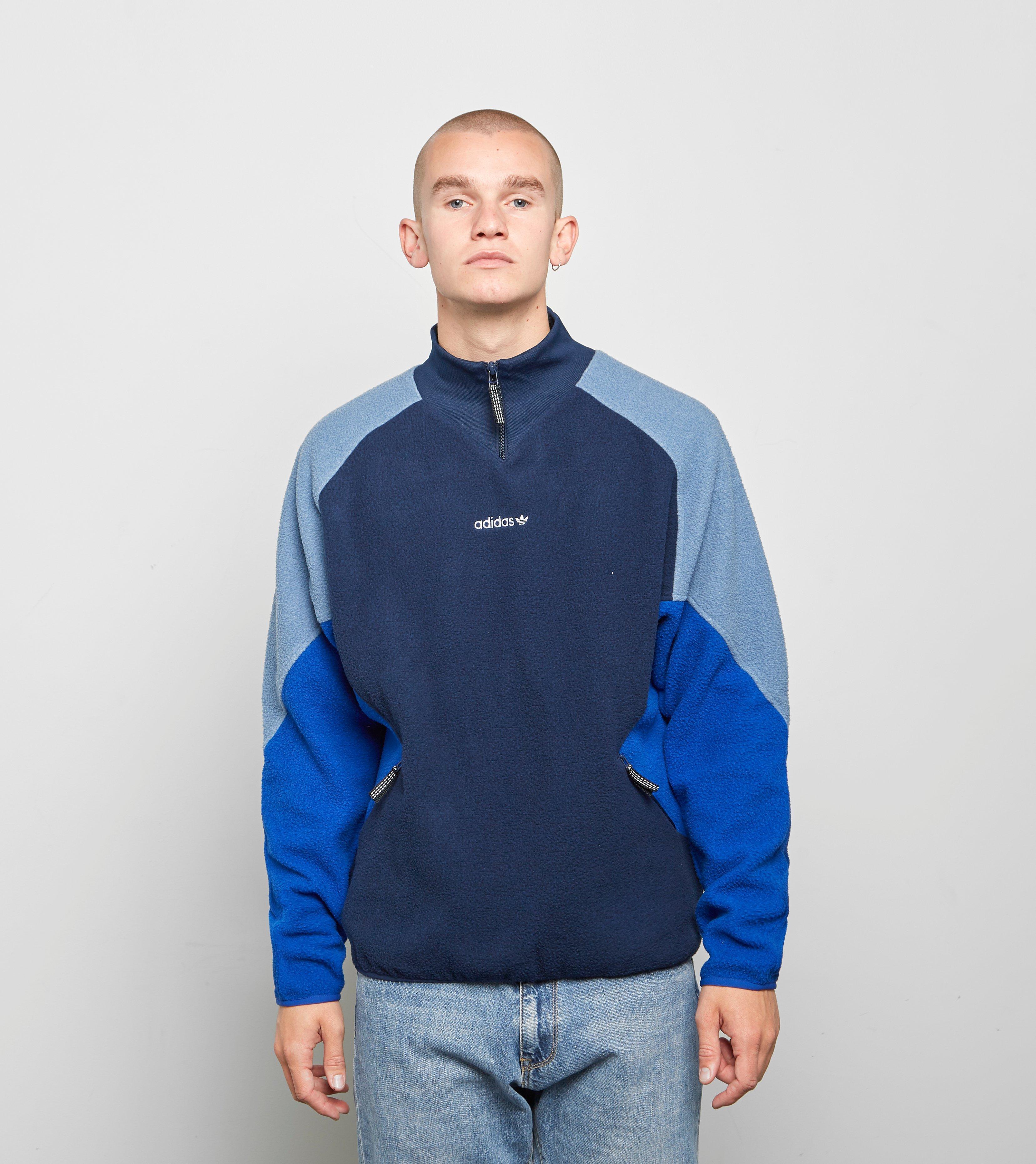 adidas Originals Eqt Polar Fleece Jacket in Blue for Men Lyst