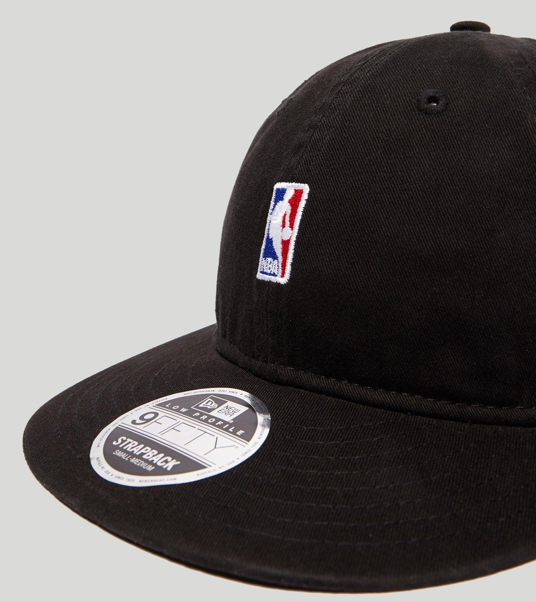 Lyst - KTZ 9fifty Low Nba Logo Cap in Black for Men cccc8922d
