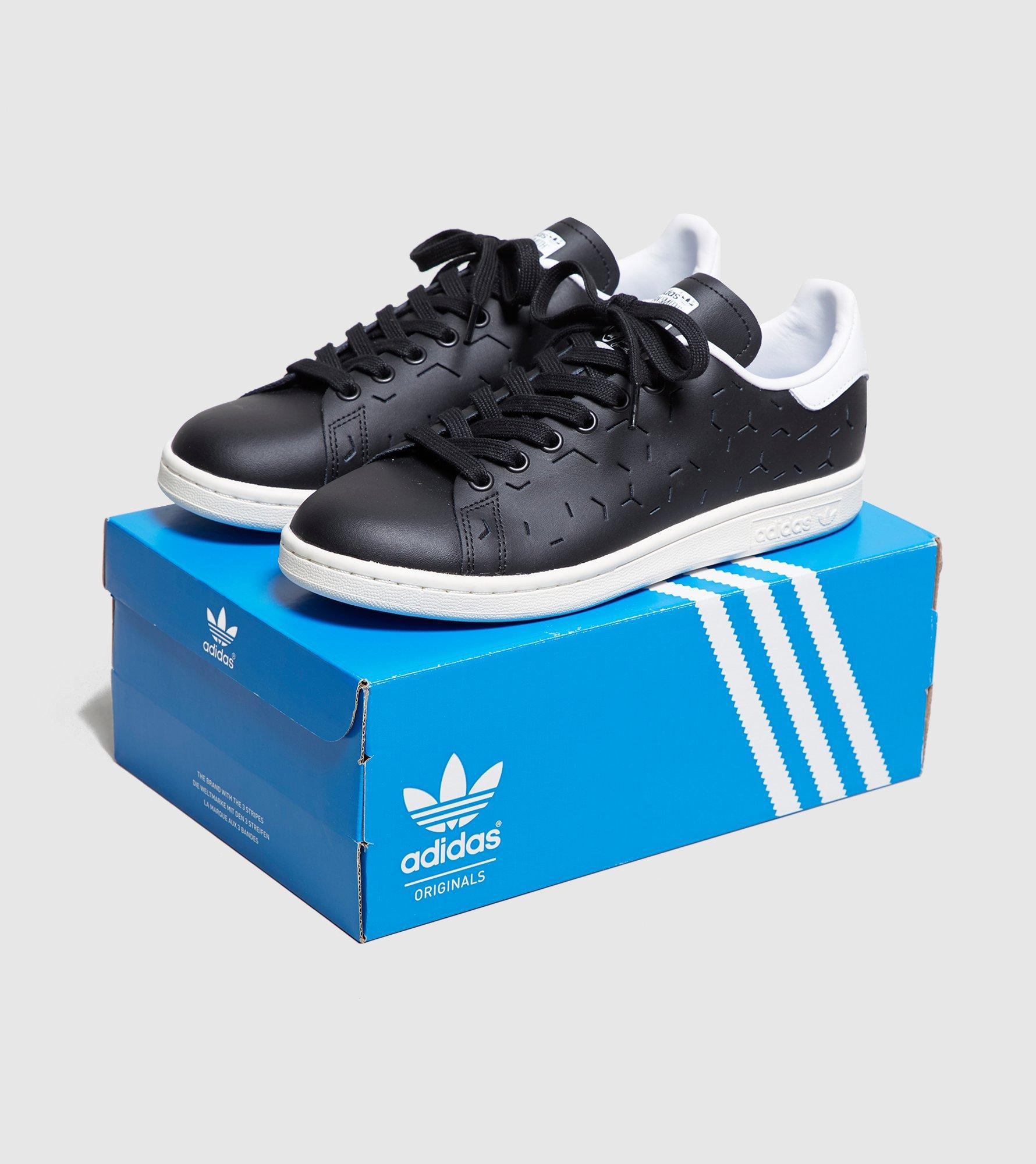 6401f436a5c2e2 ... factory price Adidas Originals - Black Stan Smith Lazer Women s - Lyst.