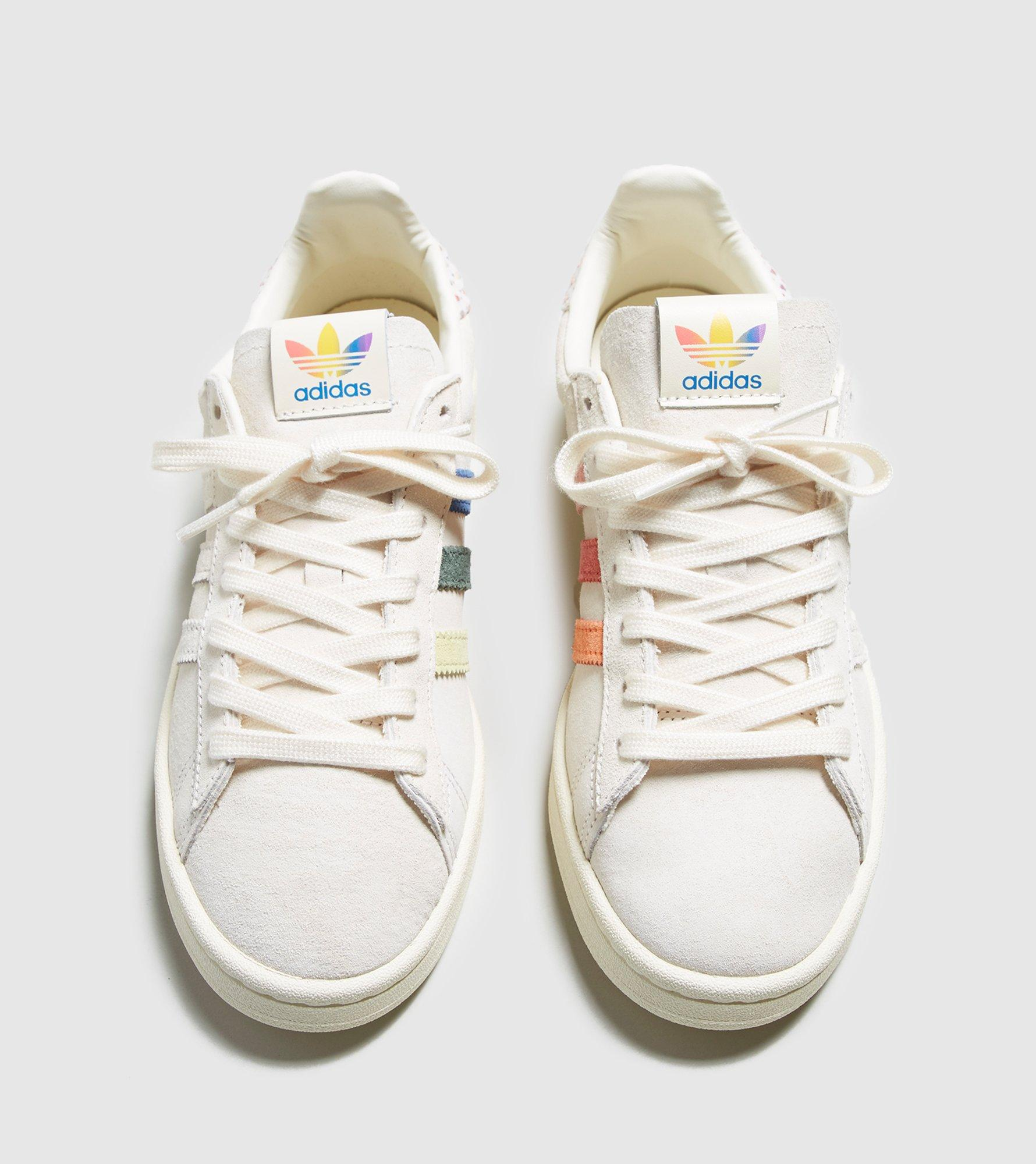 new concept 3b280 a9ffa Lyst - adidas Originals Campus Pride Women s in White