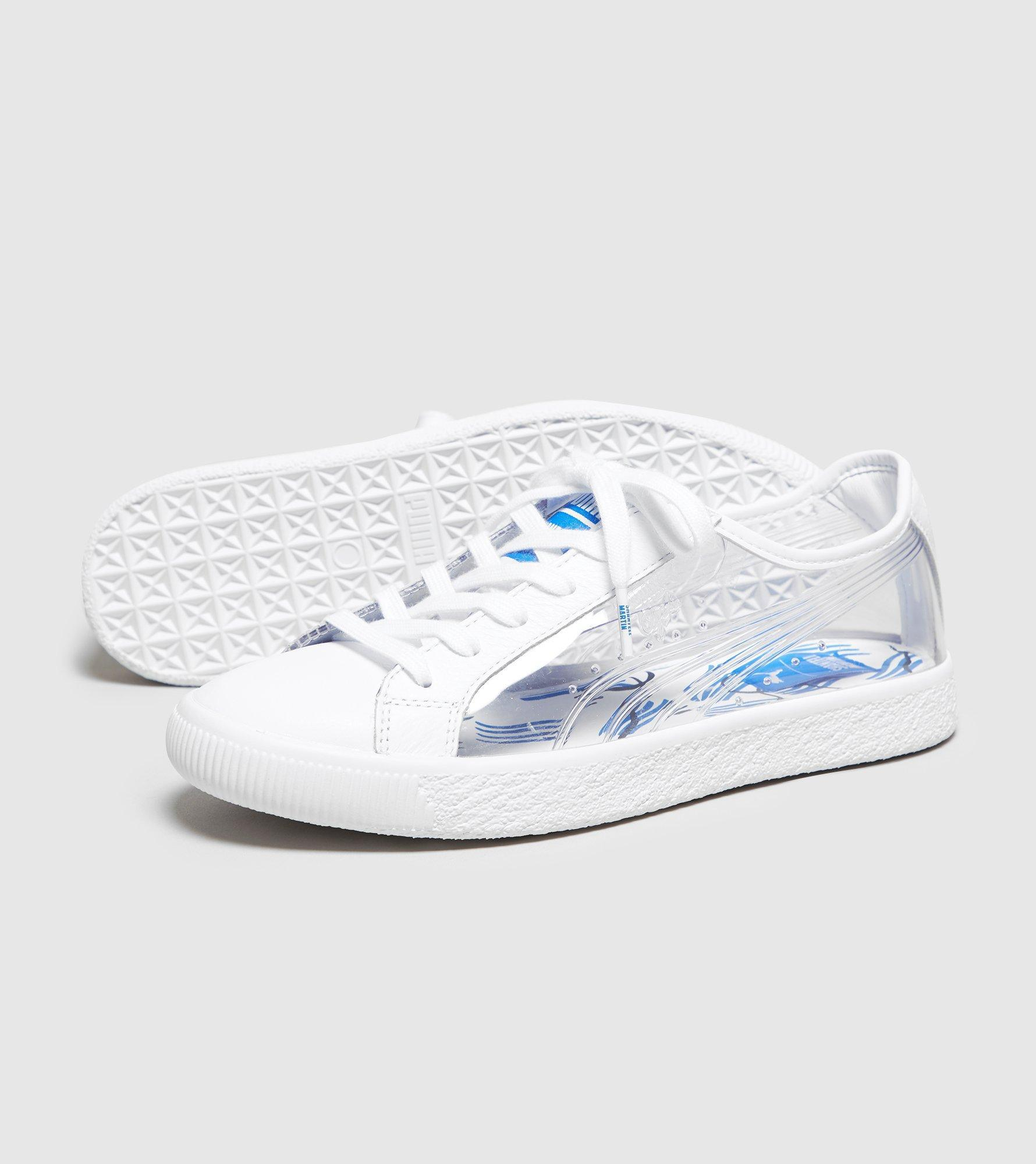 732185b7780 Lyst - PUMA X Shantell Martin Clyde Clear Women s in White