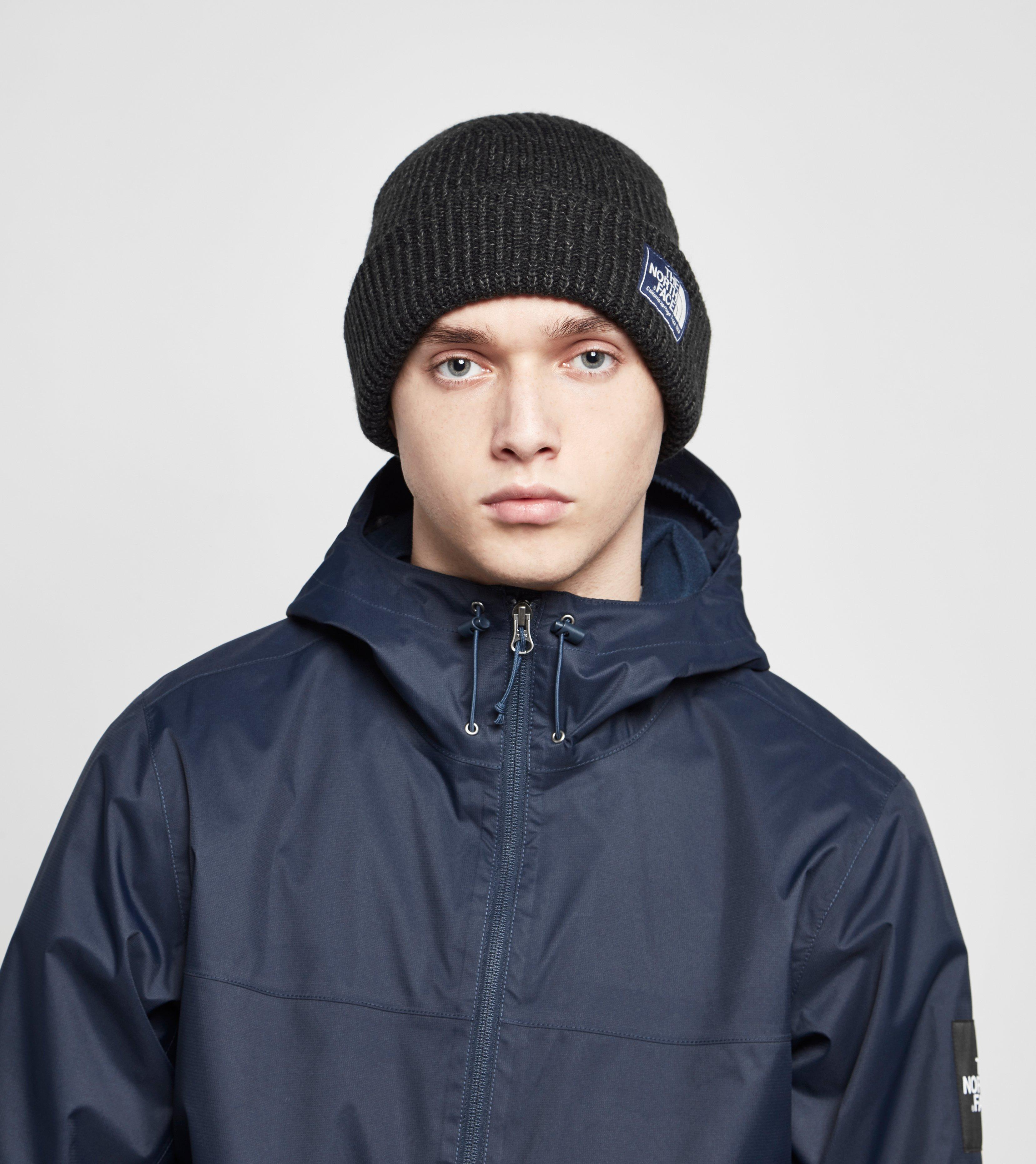 254bb8ec011 The North Face Salty Dog Mens Beanie in Black for Men - Lyst