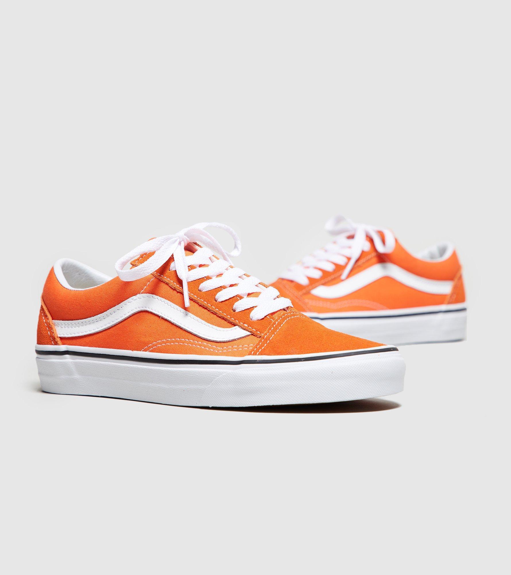 vans old skool orange damen