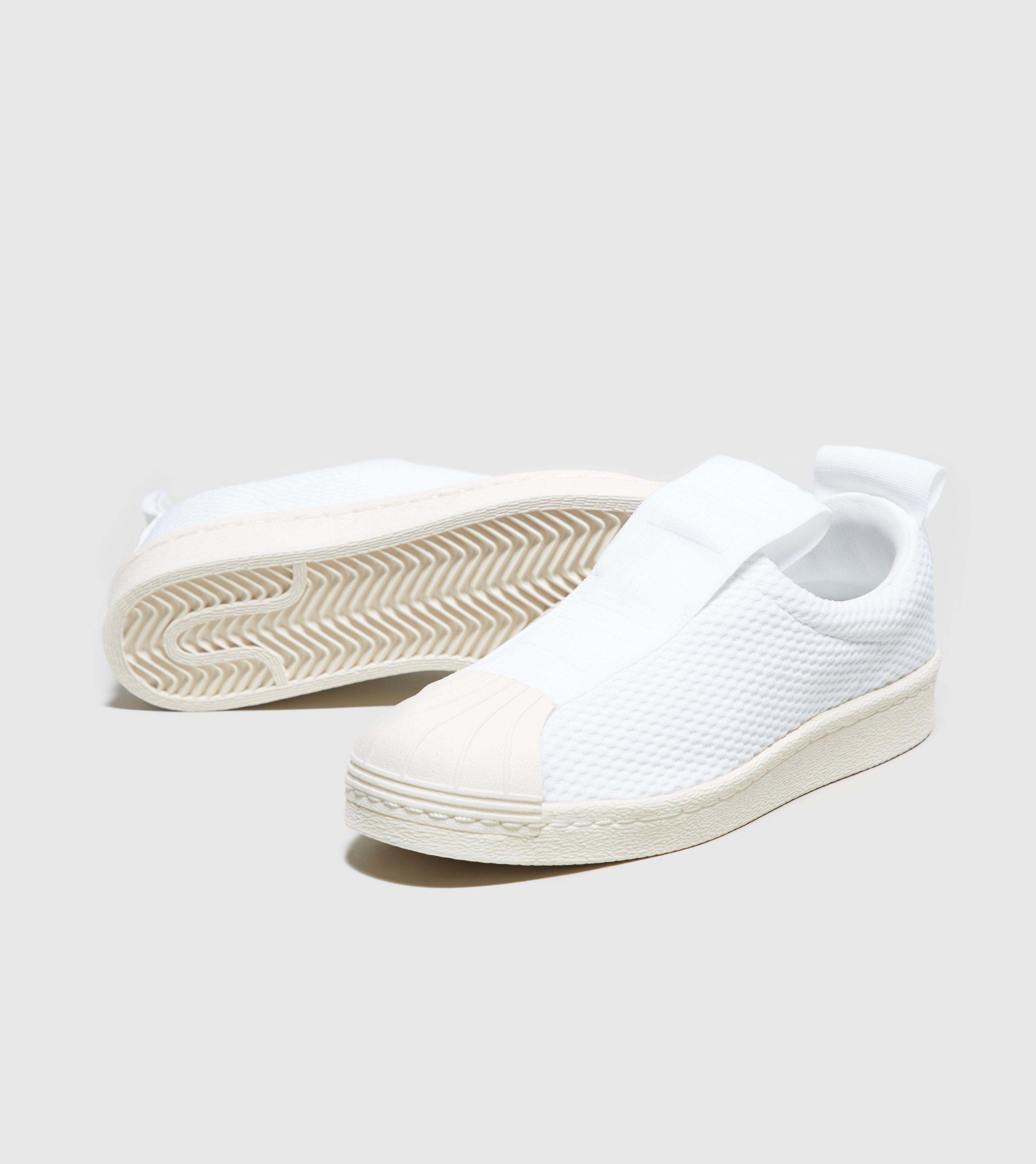 new style b00a3 04c19 adidas Originals. White Superstar Bw35 Slip-on Womens