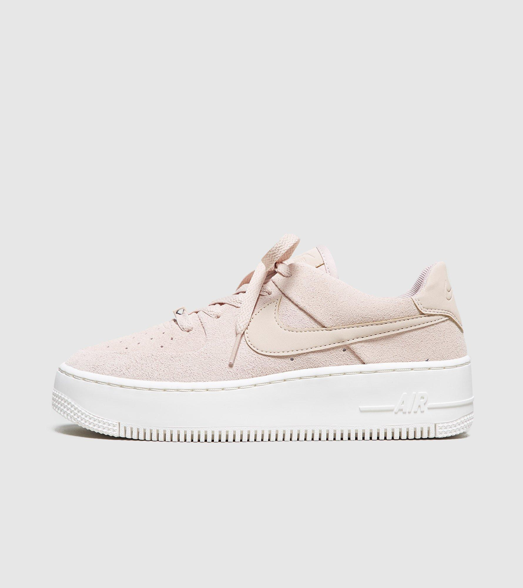 8bf1c1d5f587 Lyst - Nike Air Force 1 Sage Low Women s in Natural