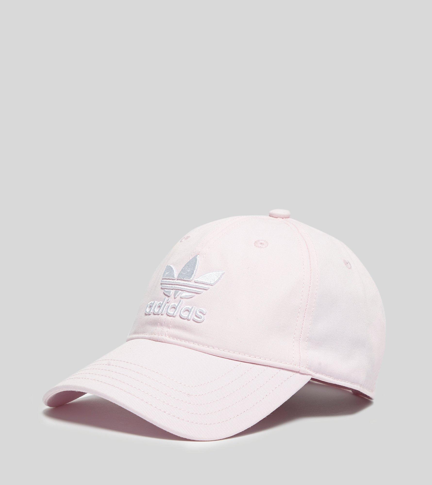 Lyst - adidas Originals Trefoil Cap in Pink af584ec80911