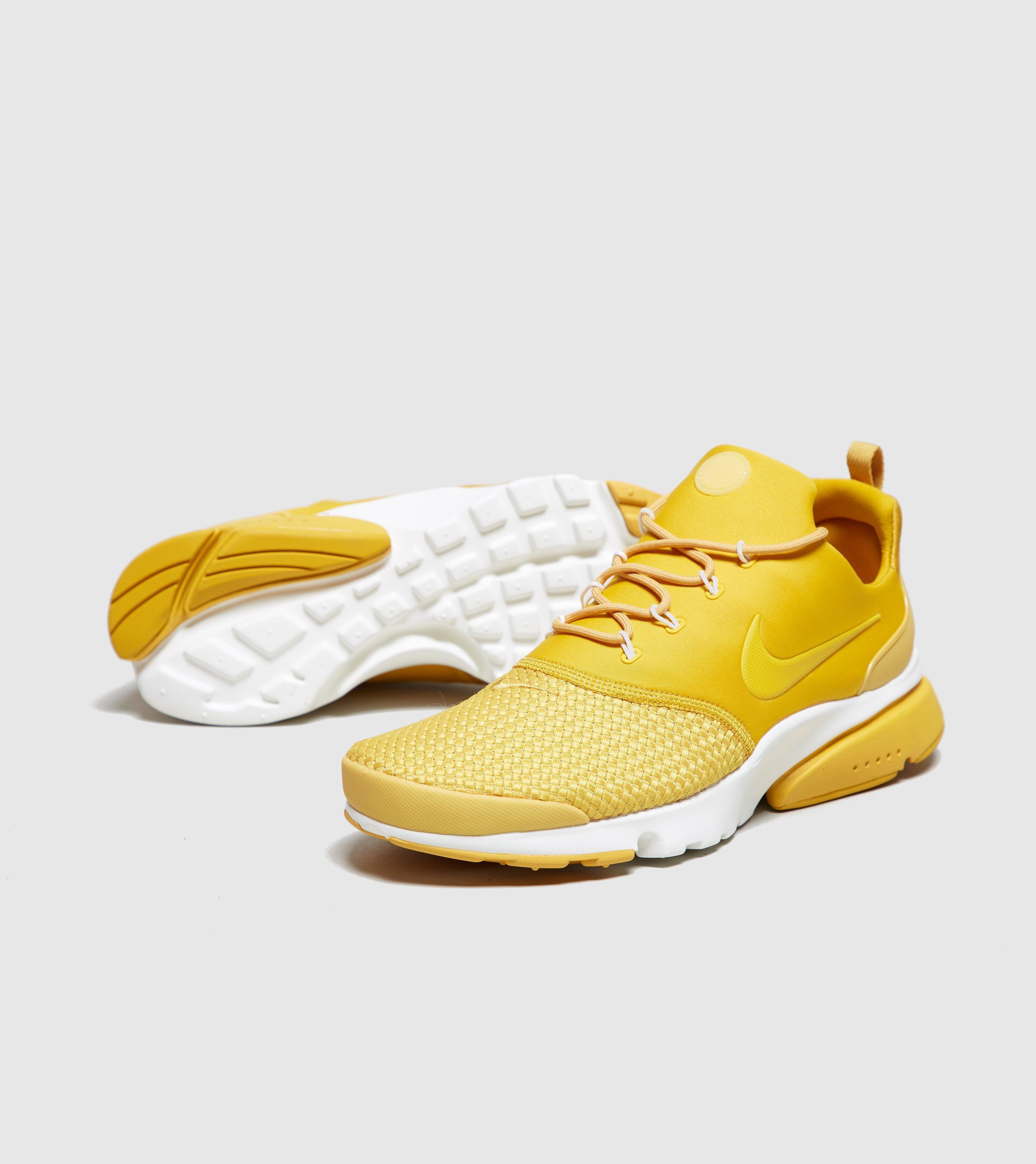 8f86ef996fdc Lyst - Nike Air Presto Fly Woven in Yellow for Men