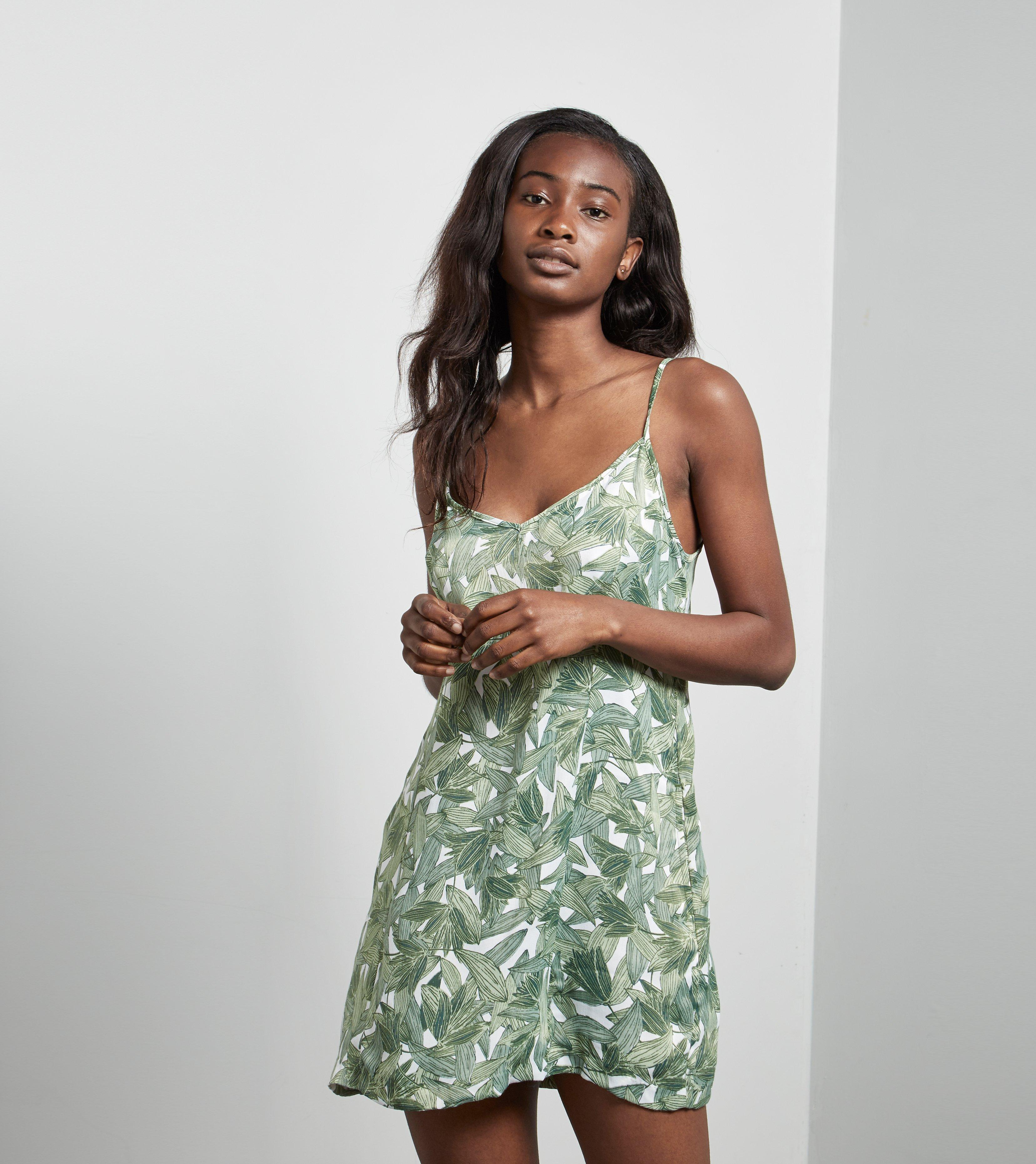 46d13f6406 Lyst - Obey Tropique Dress in Green