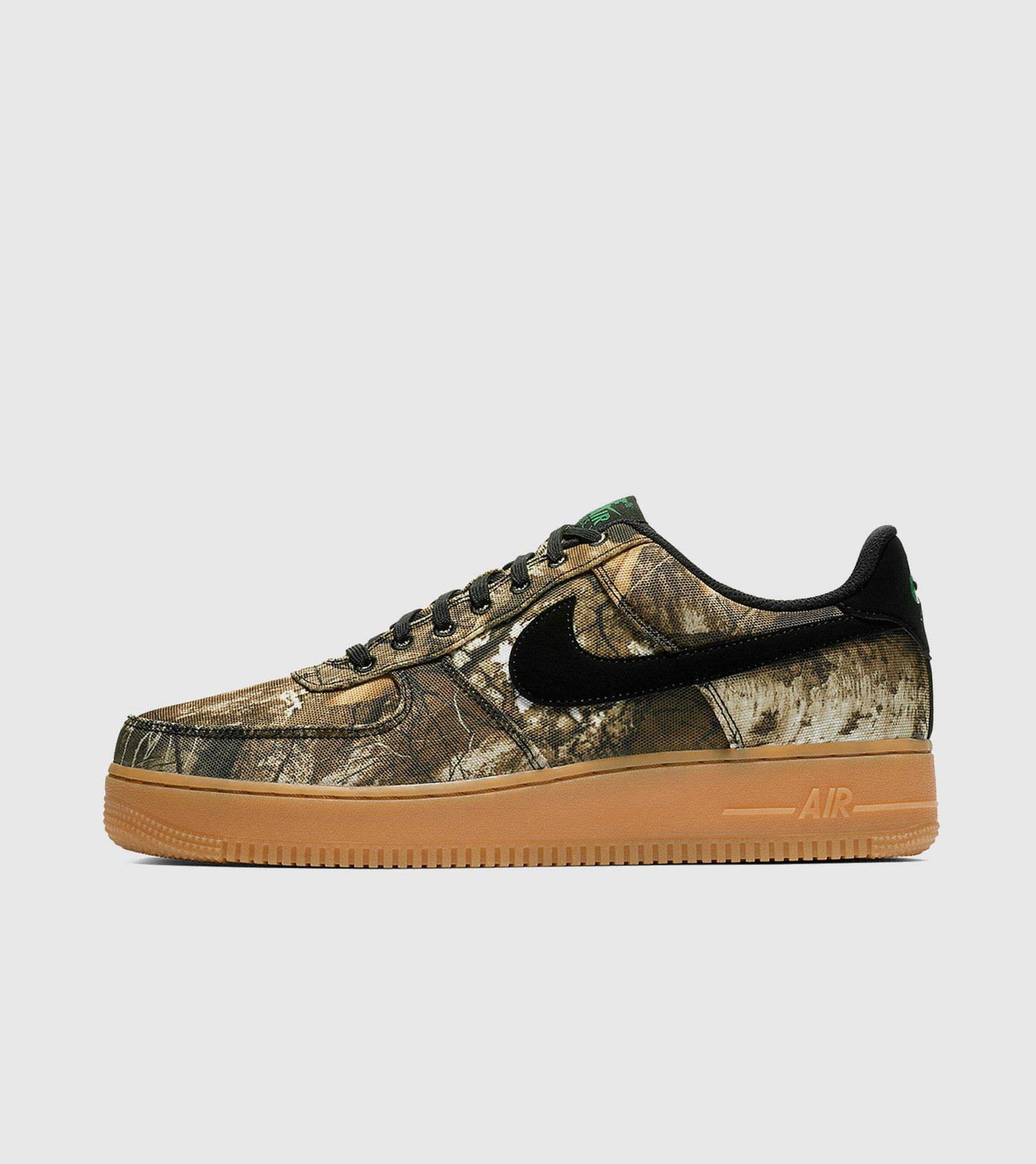 9229c6a77d77 Lyst - Nike Air Force 1  realtree  Camo Pack Women s in Black