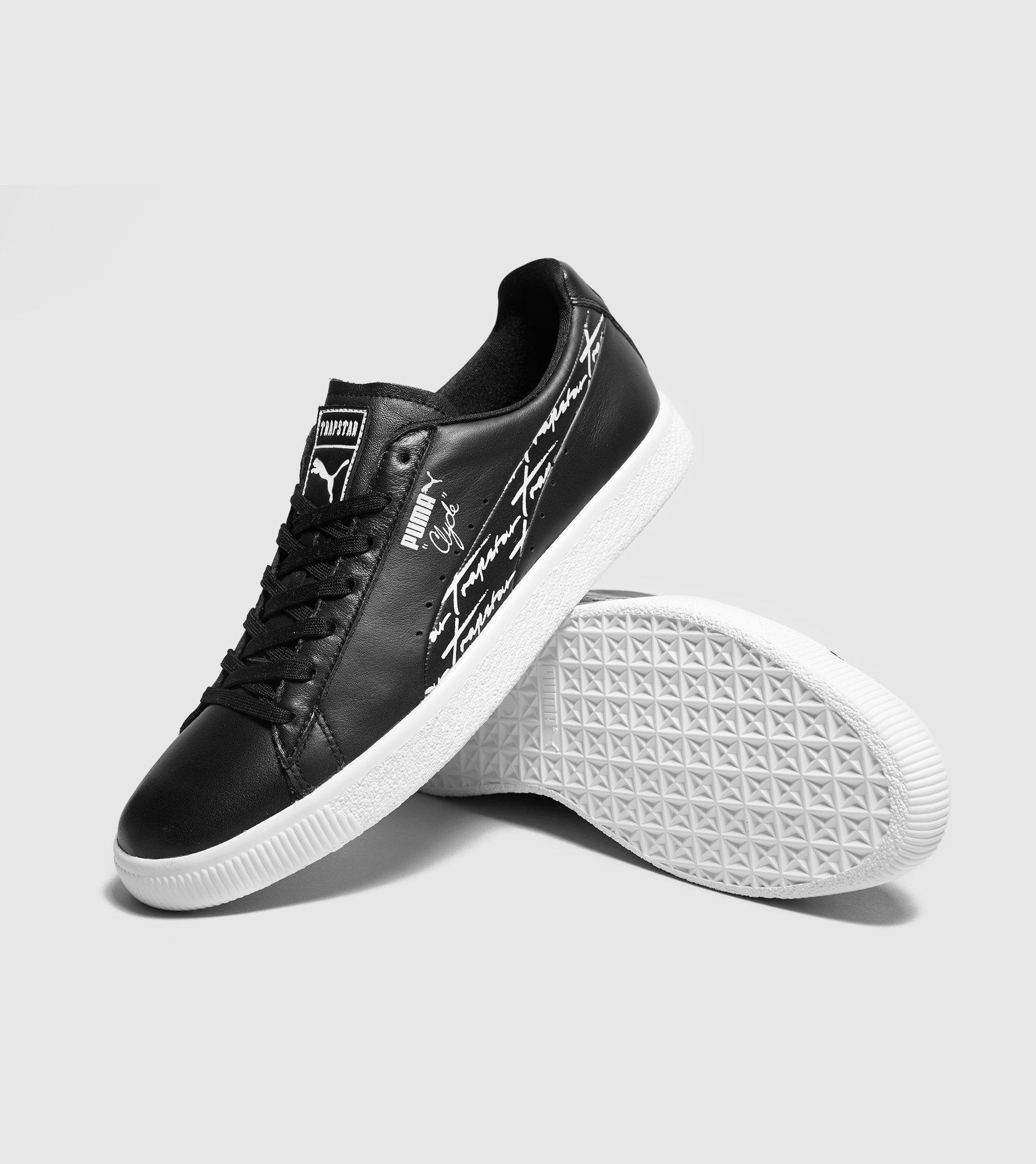 8c1c816bbb2 PUMA X Trapstar Clyde in Black for Men - Lyst