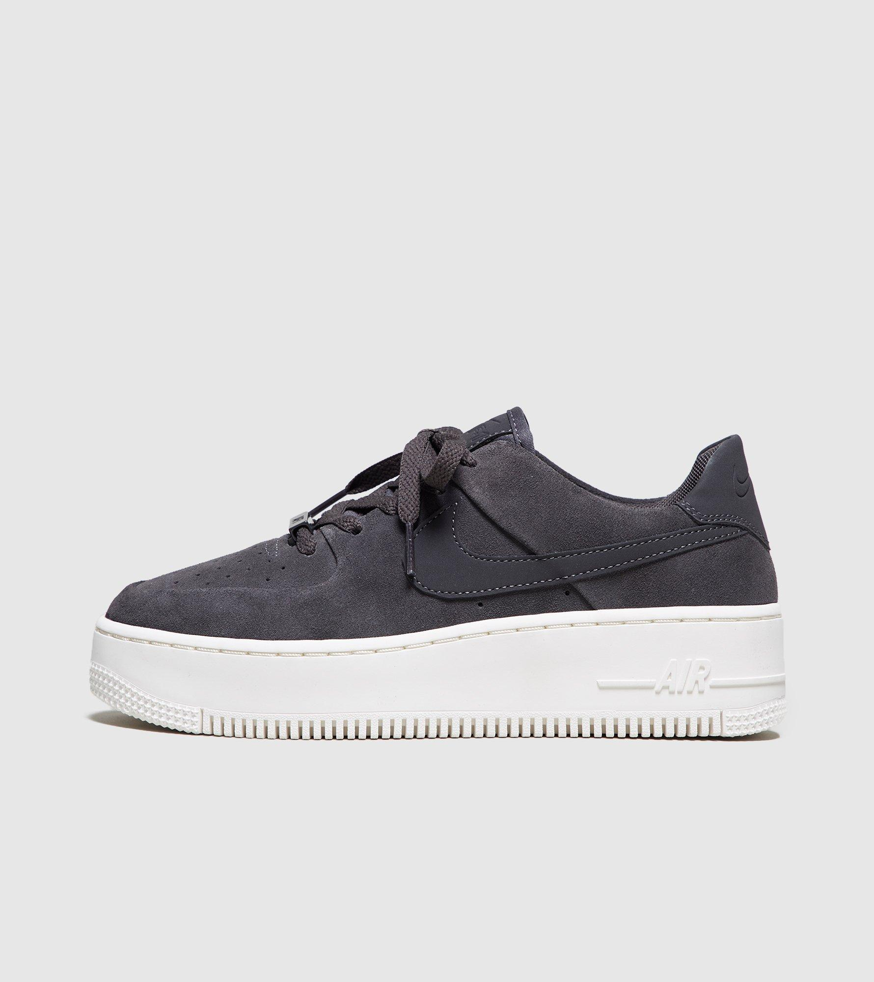 0ceb3f5362d8 Nike Air Force 1 Sage Low Women s in Gray - Lyst