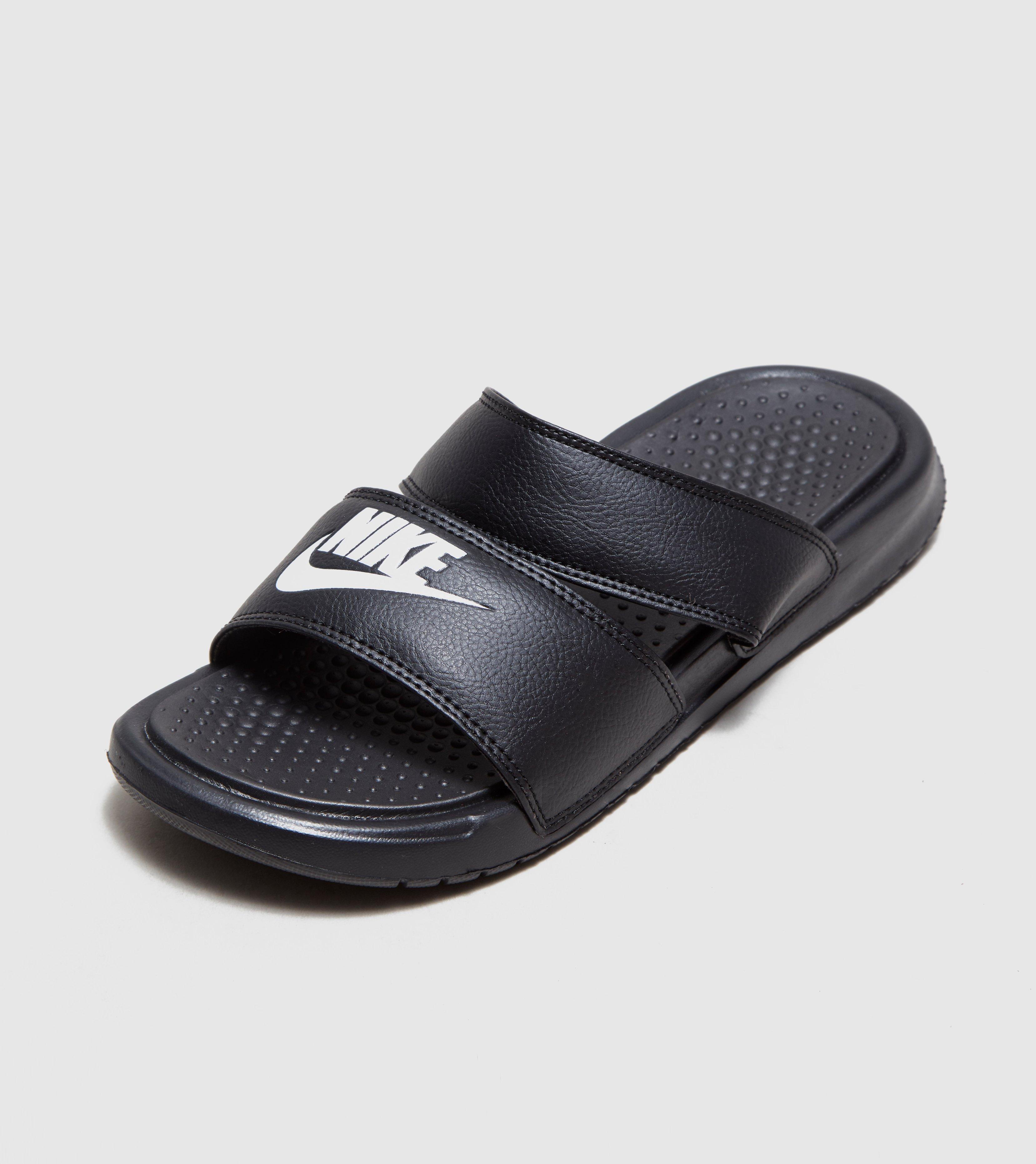 d071882ad Lyst - Nike Benassi Duo Ultra Slides Women s in Black