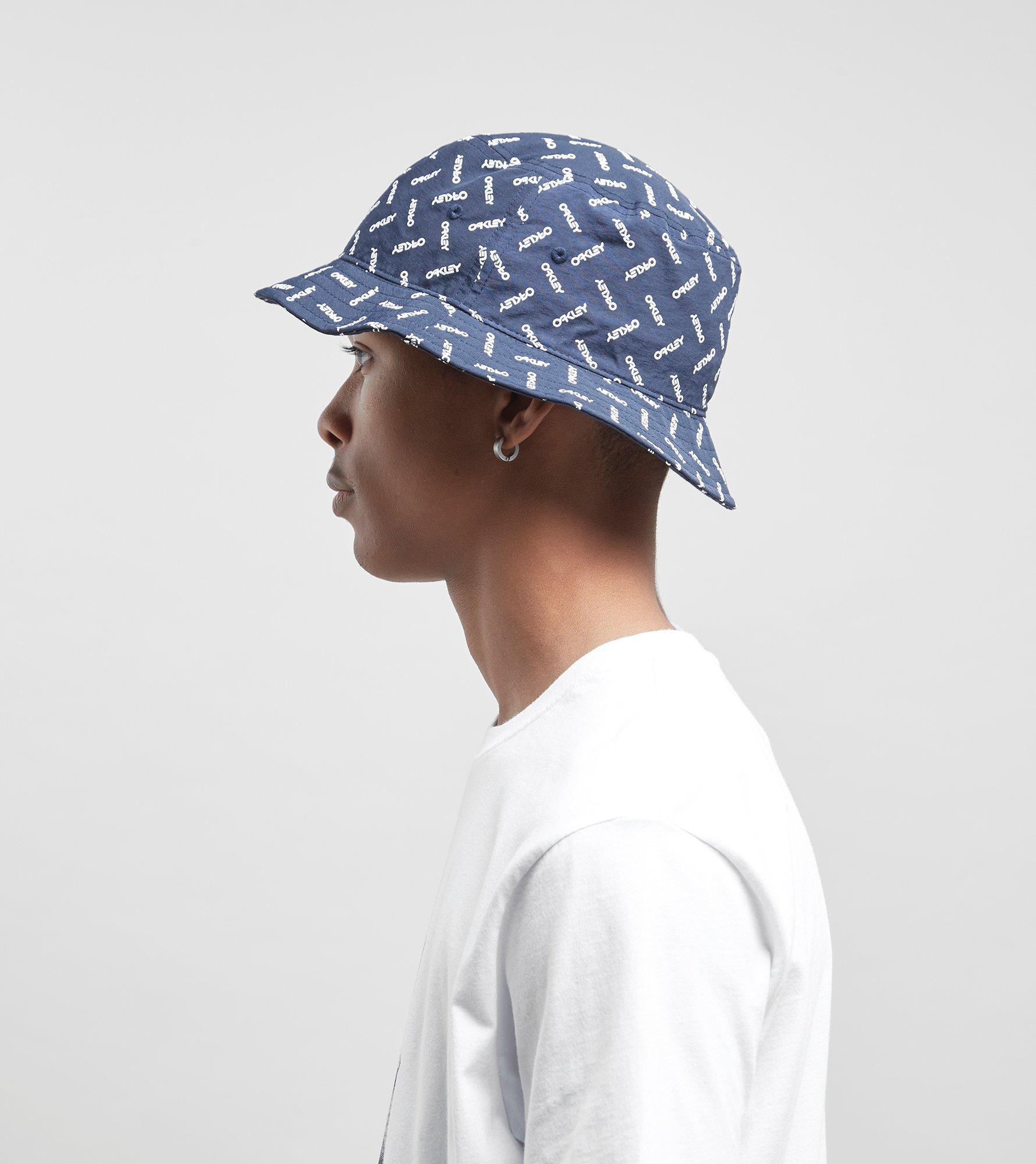 ... denmark lyst oakley logo bucket hat in blue for men 3f893 a7fa5 ... 4ce0df476a35