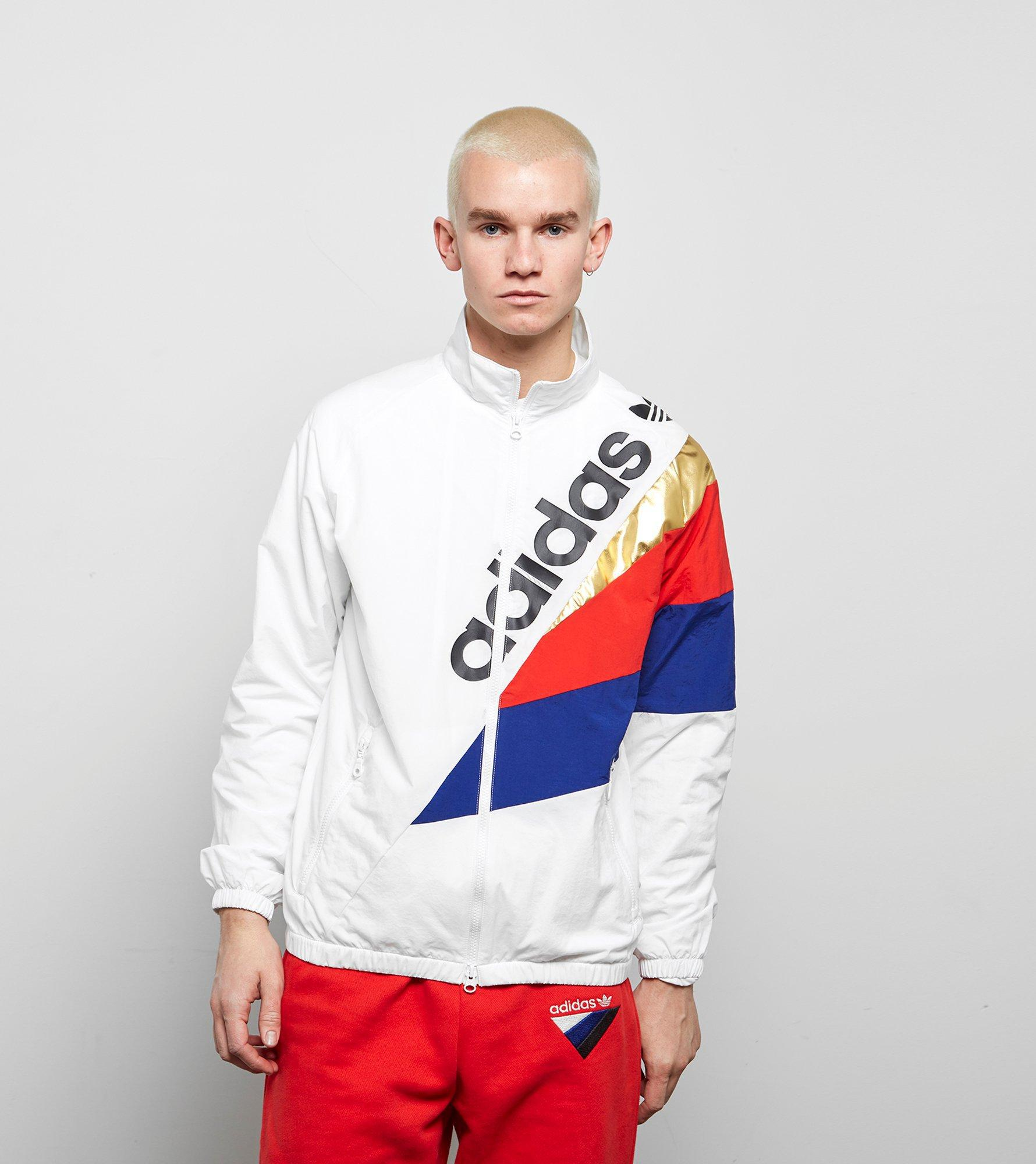 155318edd089 Lyst - Adidas Originals Tribe Track Top in White for Men