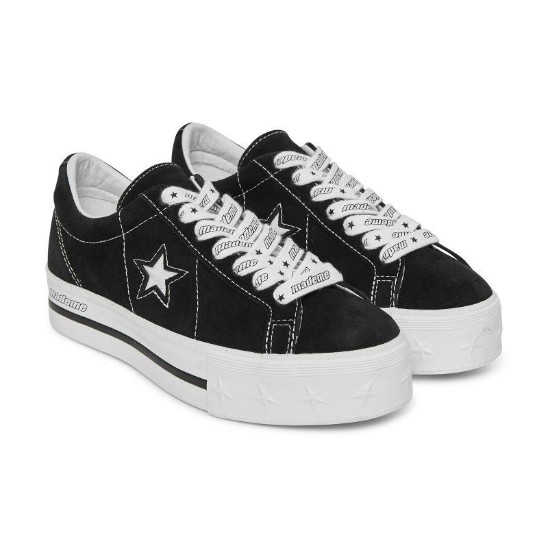 187b8d99e955d Converse - X Mademe One Star Platform Sneakers Black - Lyst. View fullscreen