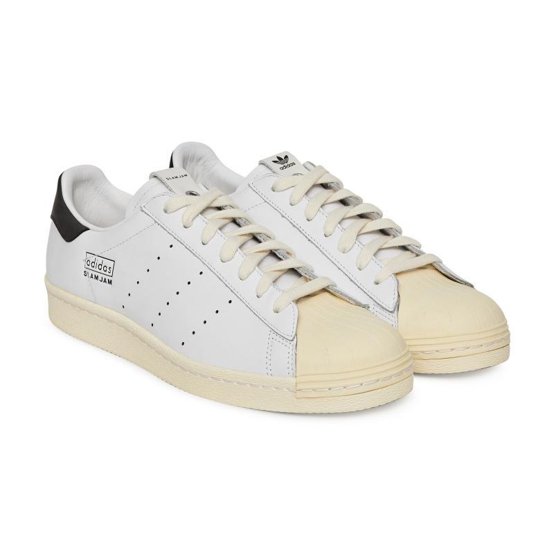 051dfa093ae89 Adidas Originals - White Slam Jam Superstar  80s Sneakers for Men - Lyst.  View fullscreen