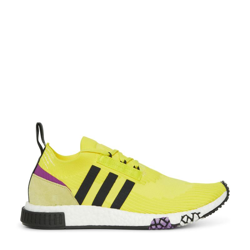 da42e3a561ffa Lyst - adidas Originals Nmd Racer Primeknit Sneakers in Yellow