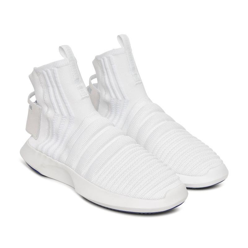 meet 7f1d0 5e43c Adidas Originals - White Crazy 1 Adv Primeknit Sock Sneakers for Men -  Lyst. View fullscreen