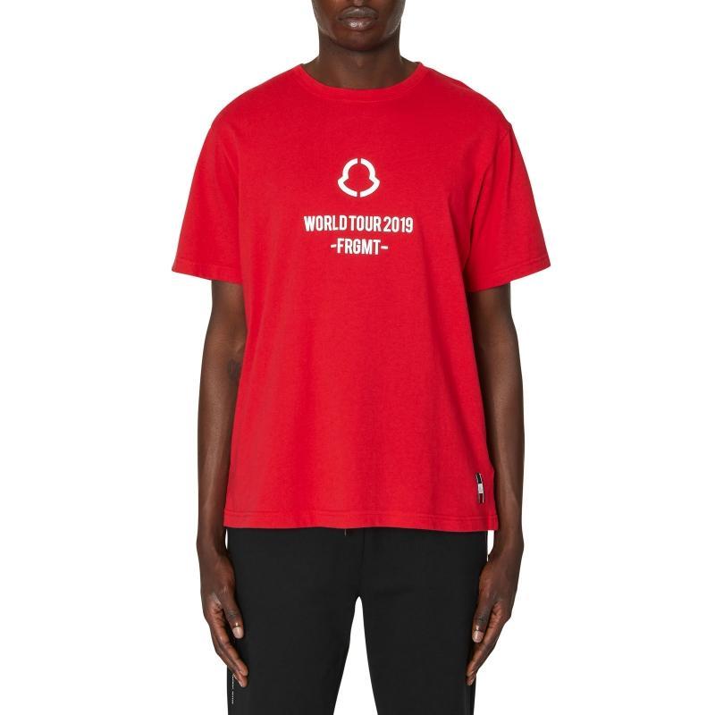 0cd2d417f Moncler Genius 7 Fragment T-shirt in Red for Men - Lyst