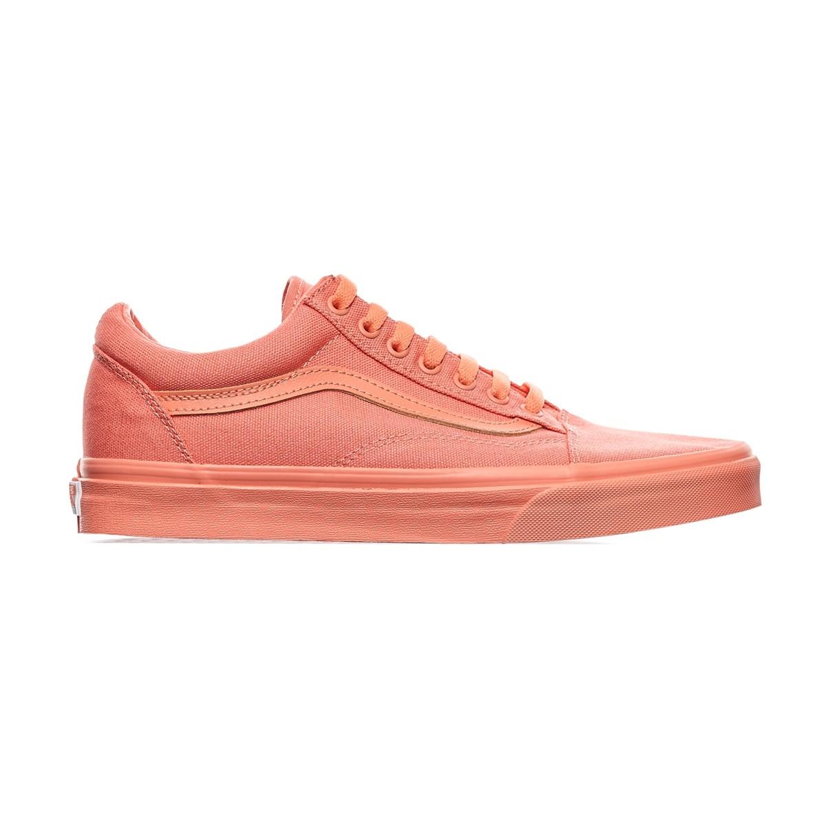 vans old skool monochrome pack sneakers in pink lyst. Black Bedroom Furniture Sets. Home Design Ideas