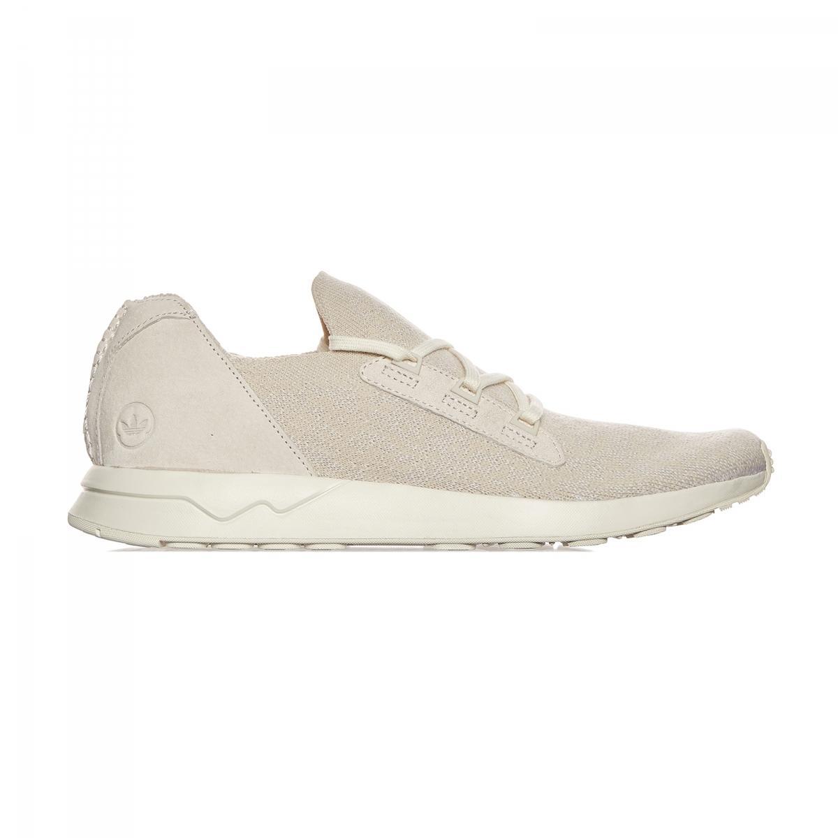 lyst adidas originali ali & corna zx flusso primeknit sneakers in