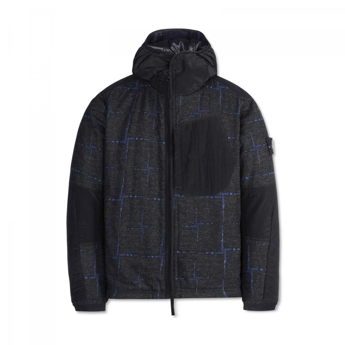 Lyst Stone Island Dormeuil House Check Jacket In Black