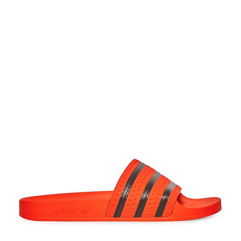 19001d268f3b adidas Originals Adilette Slides in Red for Men - Lyst