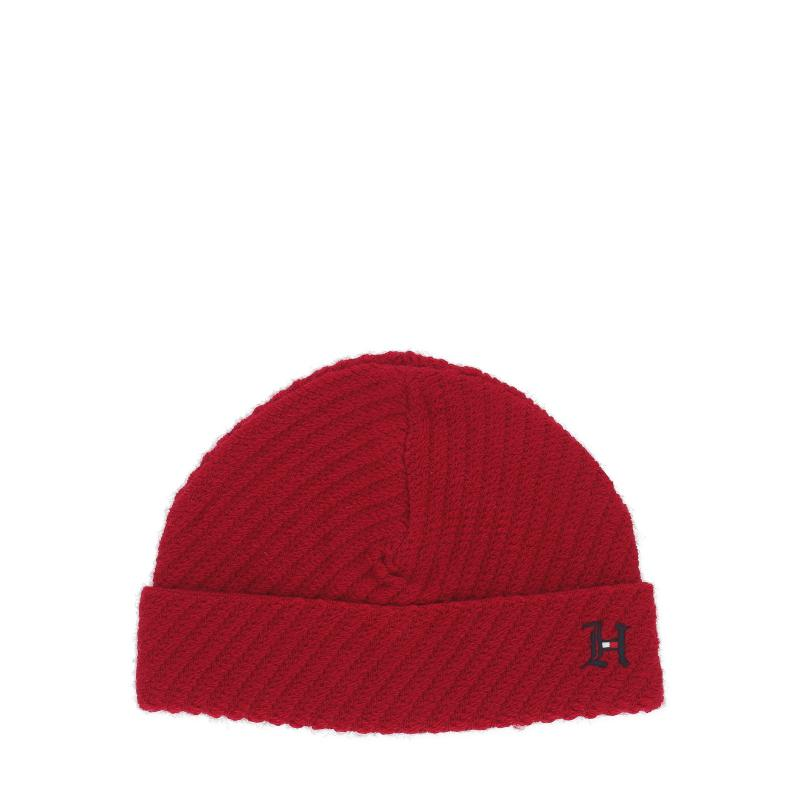 91b93e023c6 Tommy Hilfiger Lewis Hamilton Short Beanie in Red for Men - Lyst
