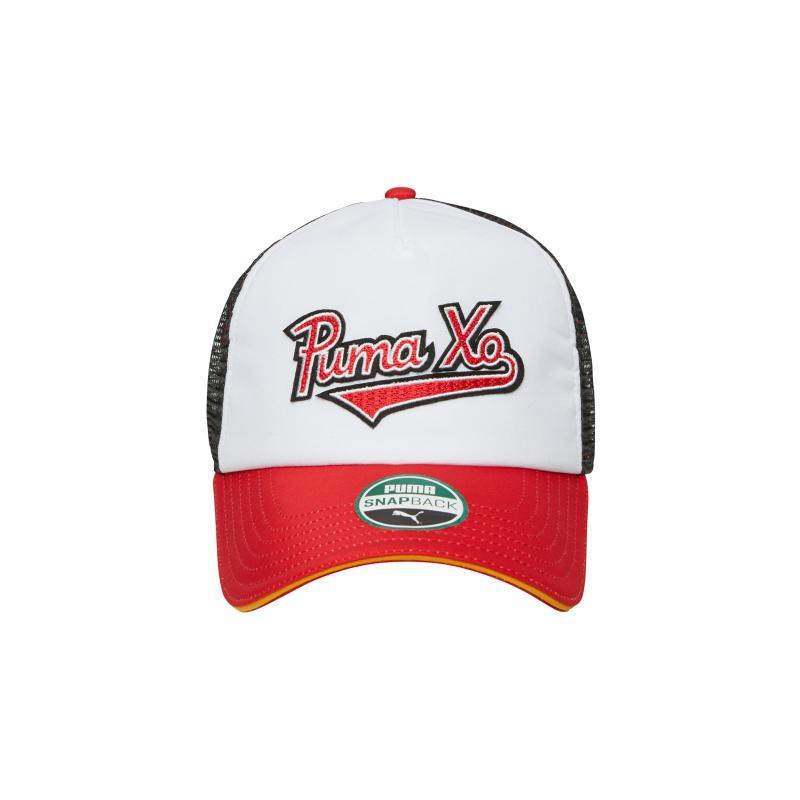 ad26565e38 PUMA Xo Homage Trucker Hat in Red - Lyst