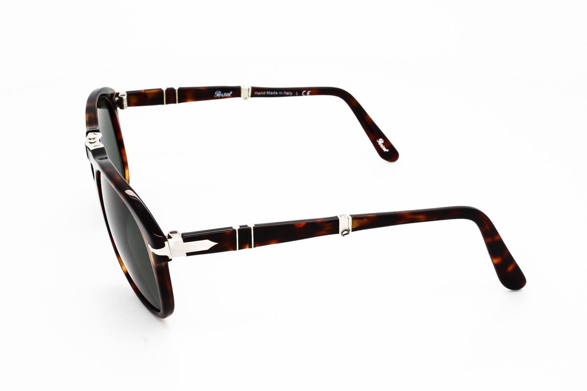94c567ecce050 Lyst - Persol Sunglasses Po0714 Folding 24 31 in Black for Men